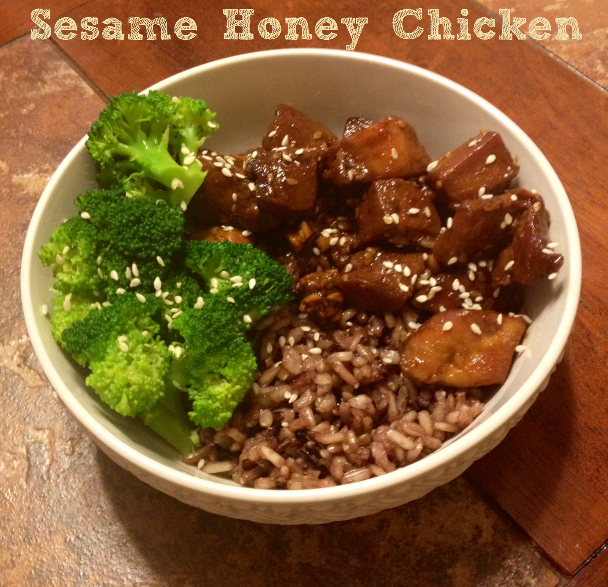 Sesame Honey Chicken Recipe – A Month of 365 Slow Cooker Suppers