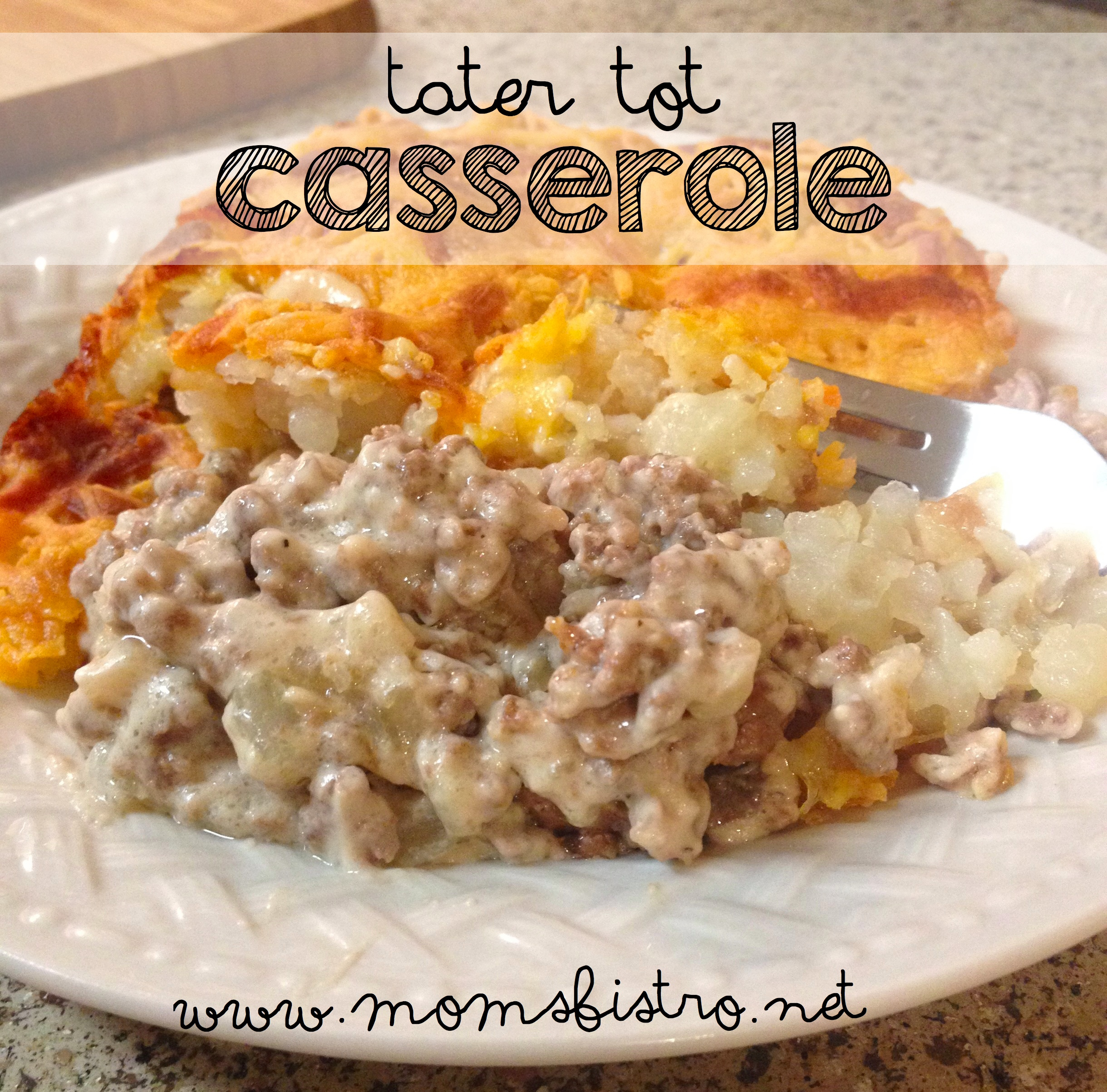Kid-Friendly Tater Tot Casserole Recipe