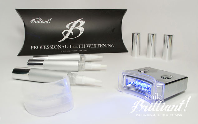 Smile Brilliant!  At Home Teeth Whitening Review & GIVEAWAY!