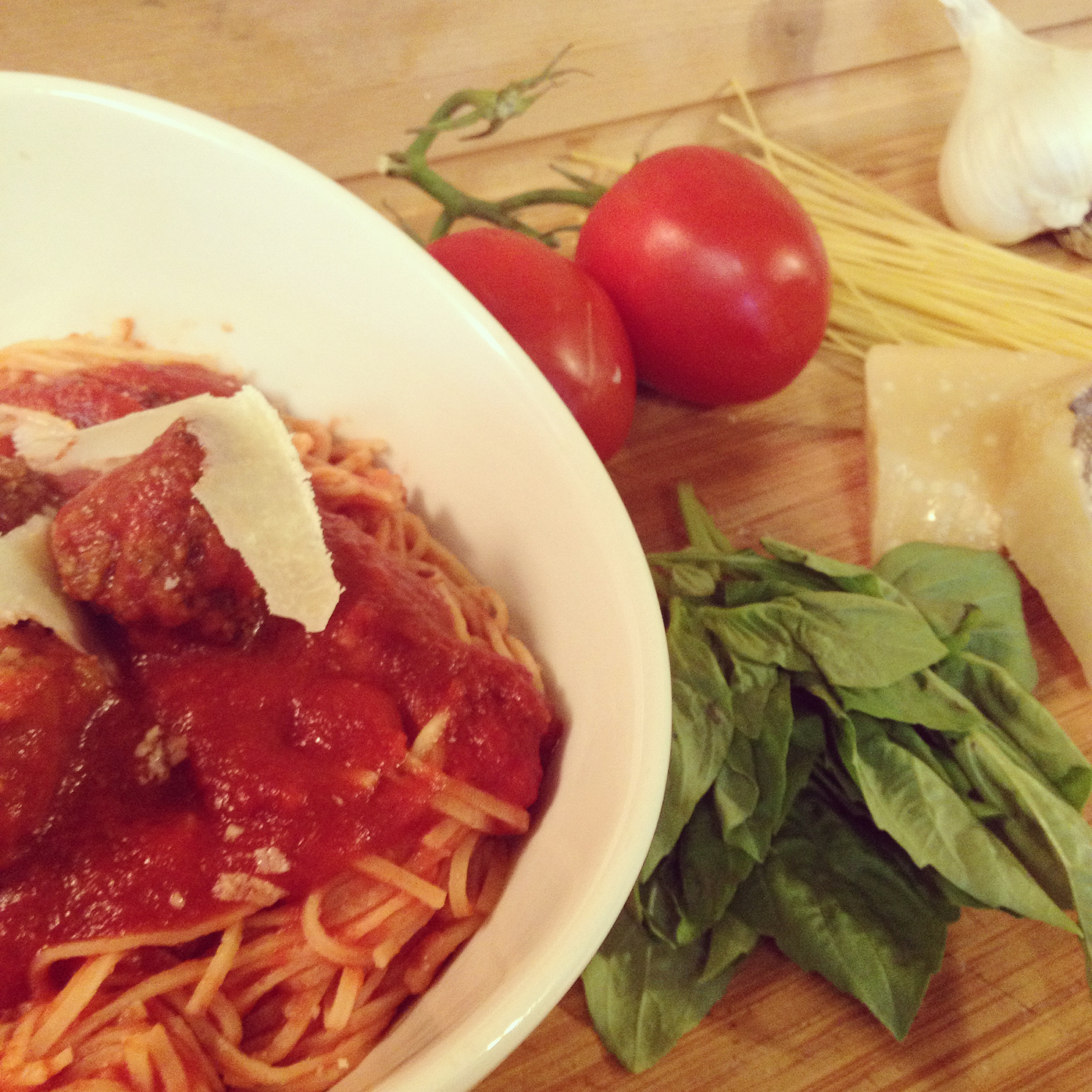 January 4th Is National Spaghetti Day!  Celebrate with Homemade Spaghetti and Crockpot Spaghetti Sauce!