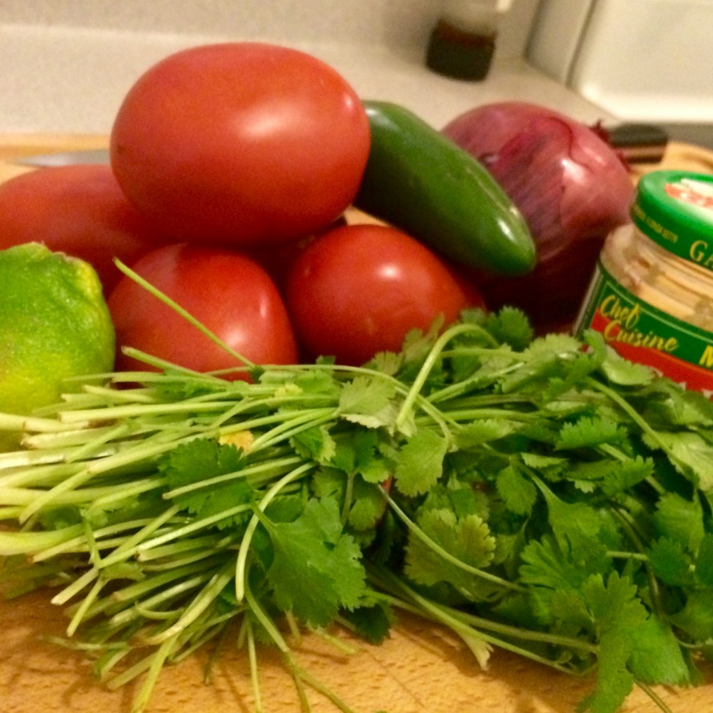 pico de gallo ingredients - cooking matters