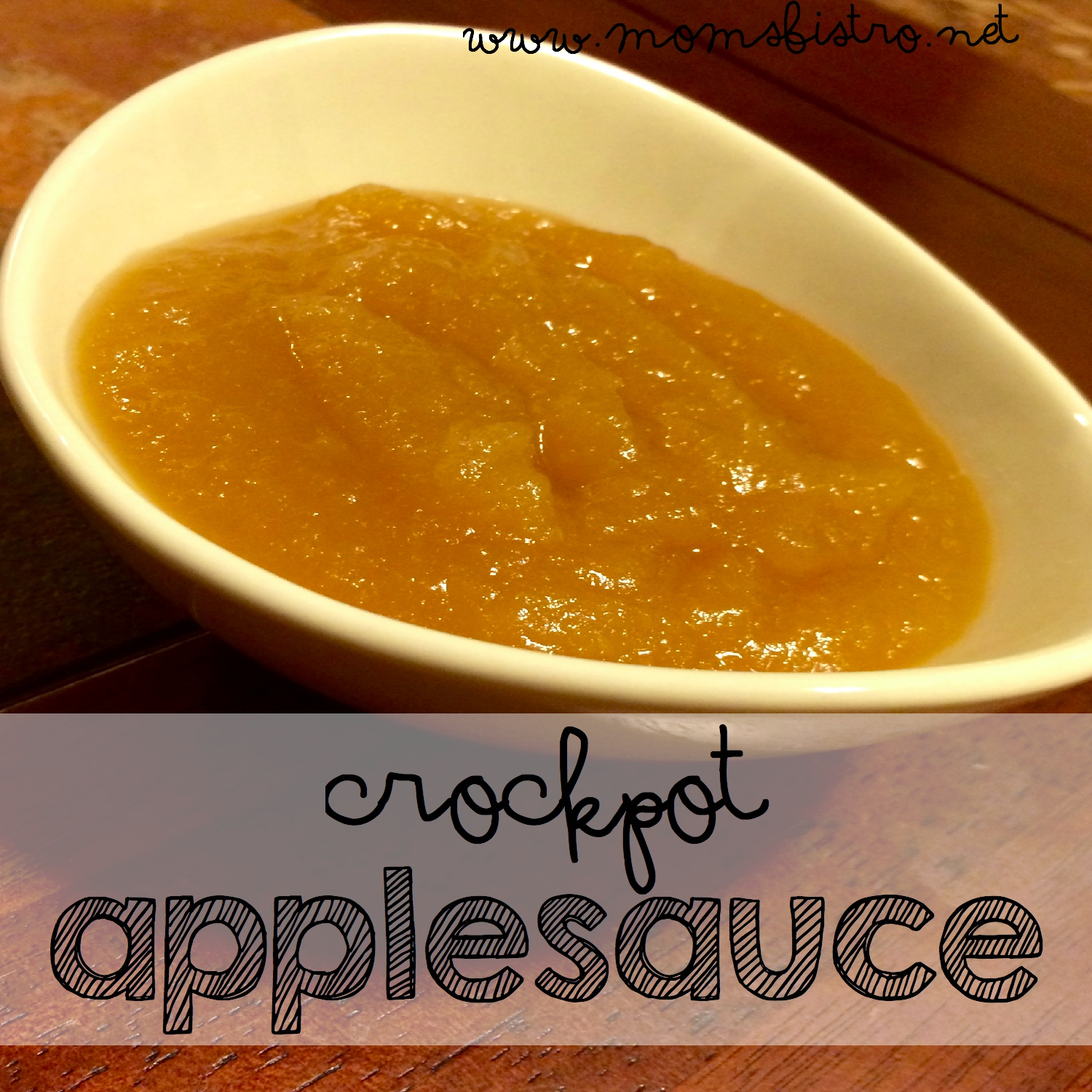 Looking For A Simple Crockpot Dessert?  Try This Easy Apple Sauce Recipe | The BEST Crockpot Apple Sauce Recipe Ever