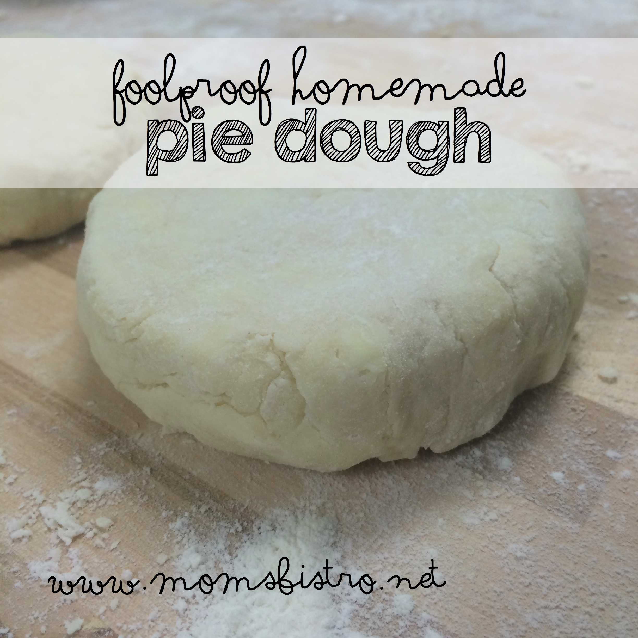 how to make pastry dough for pot pies