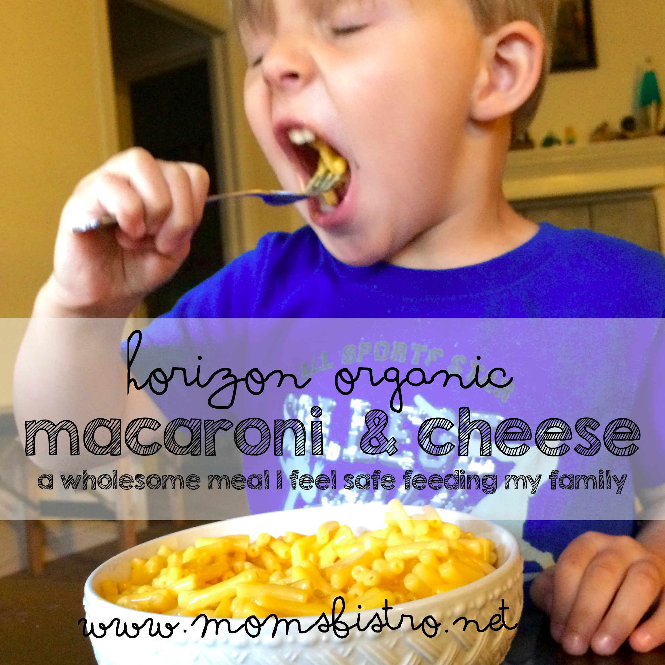 A Weeknight Meal You Feel Safe Feeding Your Kids For Those Nights When You Just Don't Feel Like Cooking | Horizon Organic Macaroni and Cheese Review