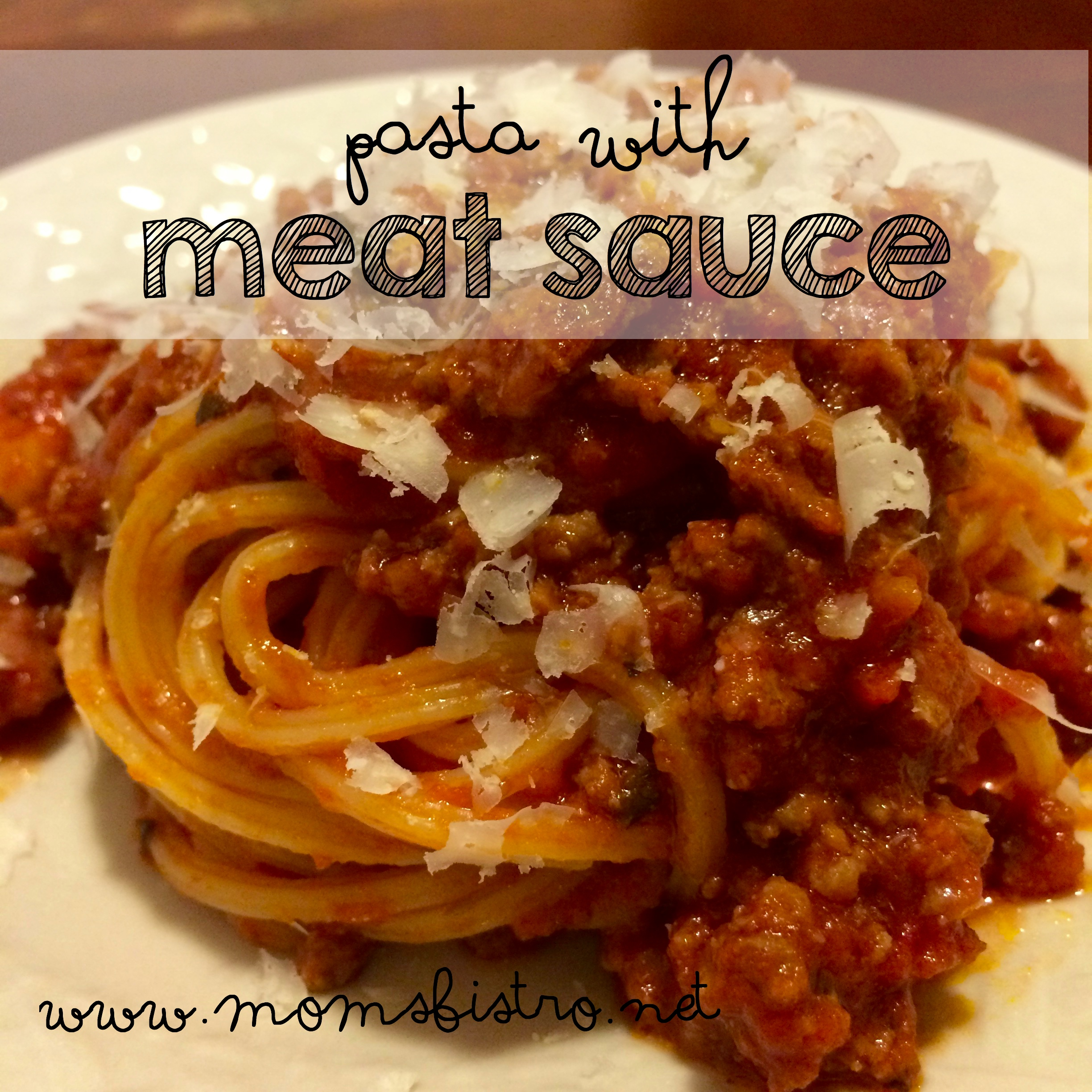 week night meal solution 30 minute pasta with meat sauce spaghetti and meat sauce recipe moms bistro