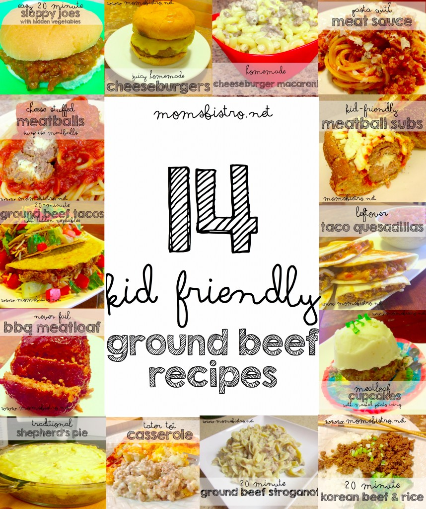 14 easy kid friendly ground beef recipes to try for dinner for What to make with hamburger meat for dinner