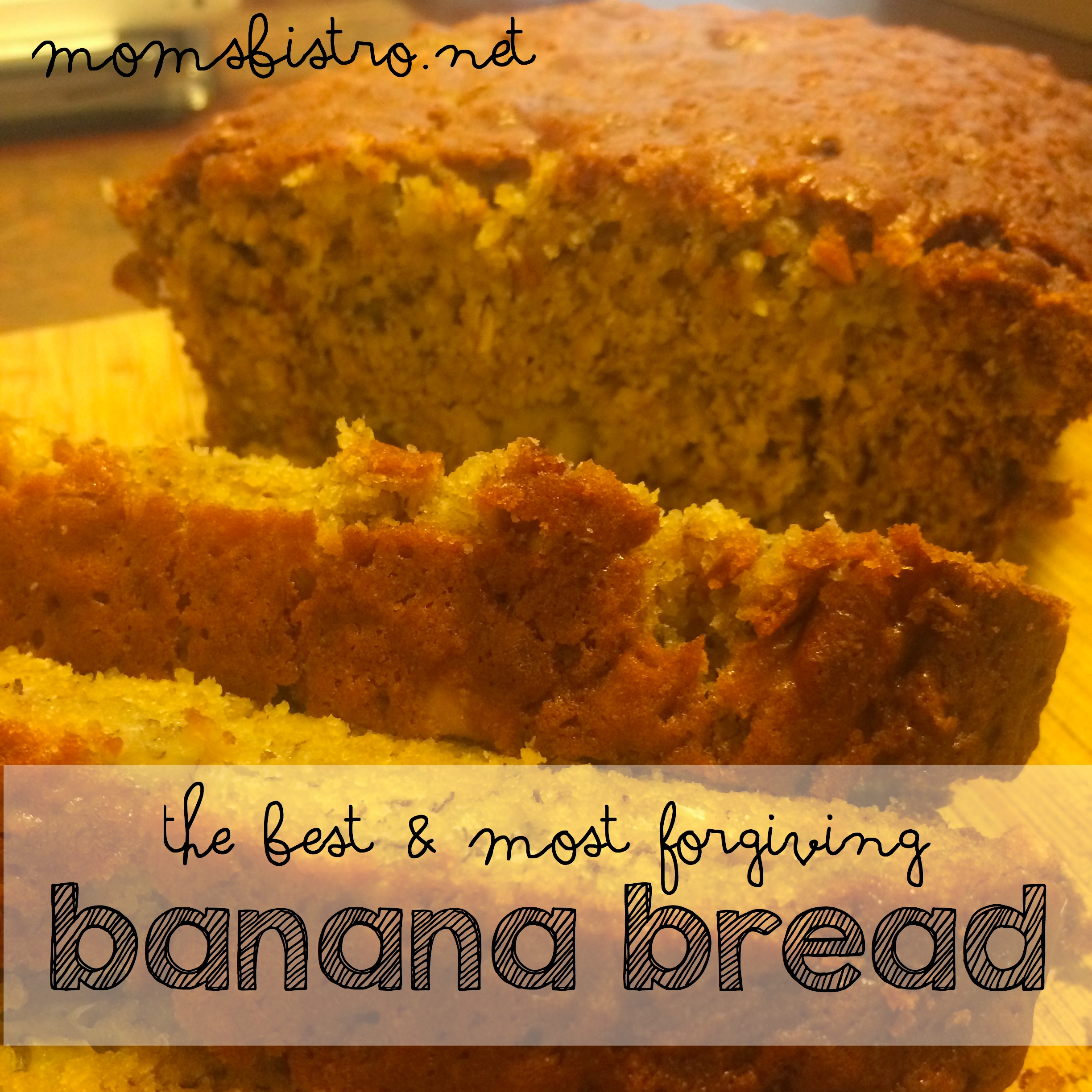 The Best and Most Forgiving Banana Bread or Muffin Recipe You'll Ever Make