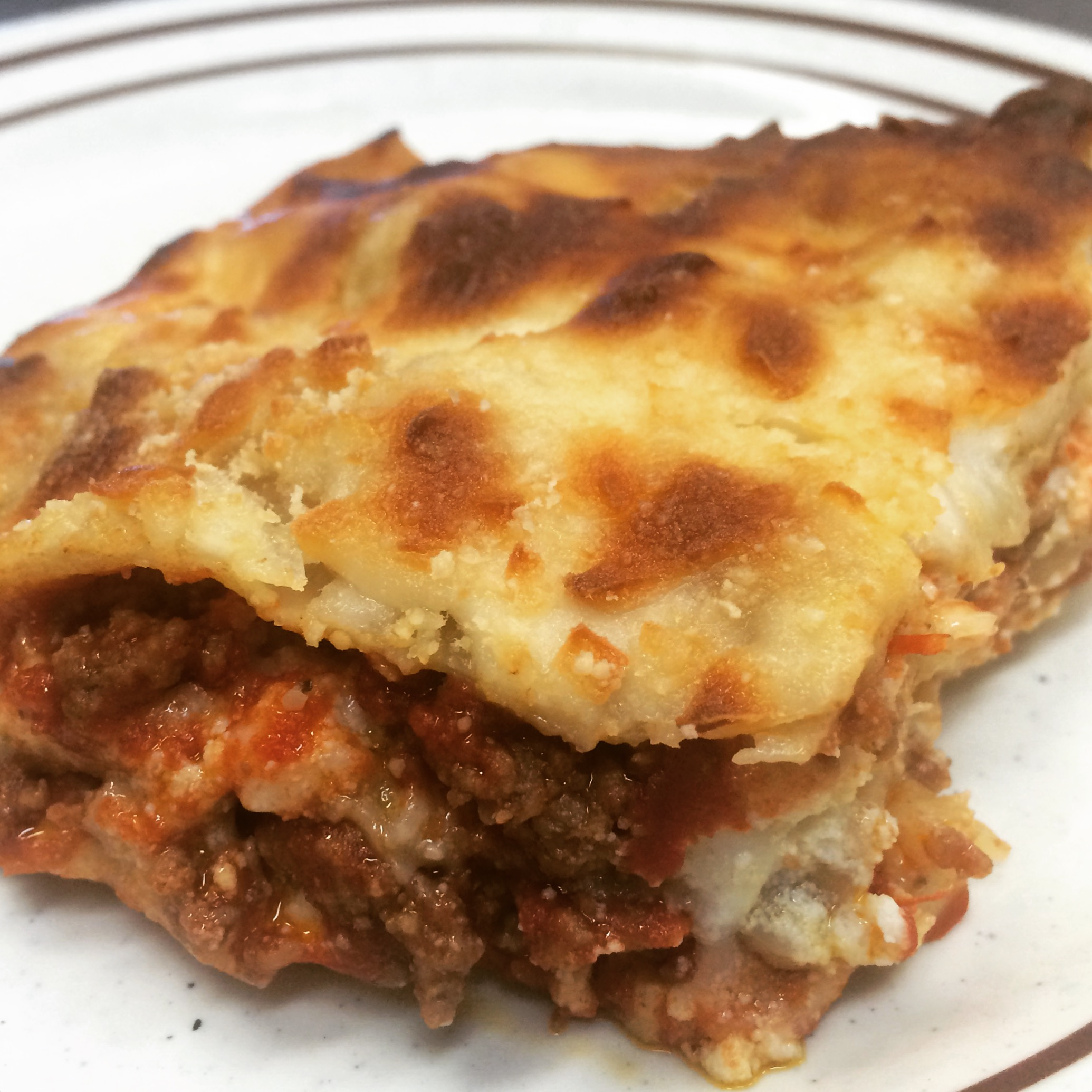 Use Up Your Leftovers Try This Simple Three Cheese Meat Lasagna
