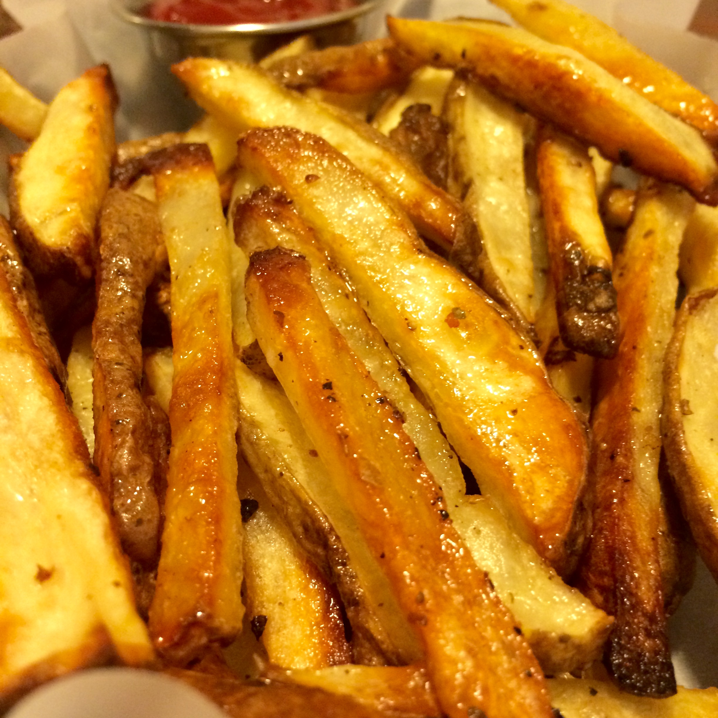 Recipe for crispy oven baked french fries