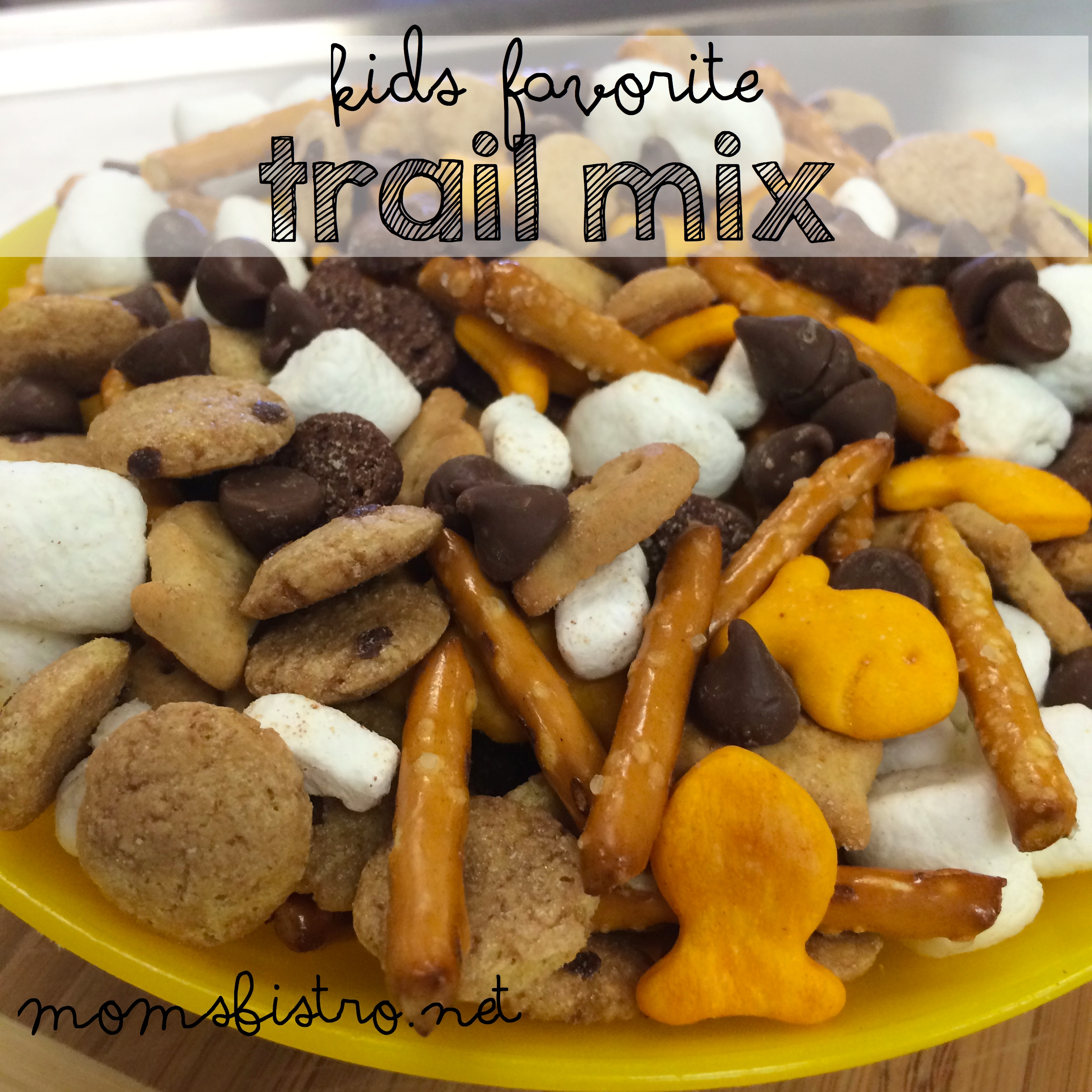 Simple Snack Solution:  Kid's Favorite Trail Mix