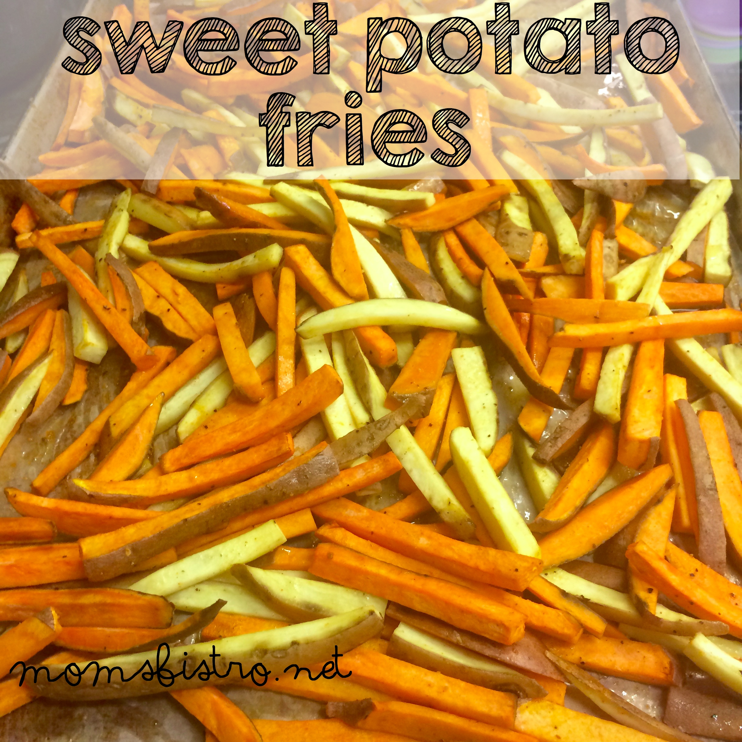 Crispy Oven Roasted Sweet Potato Fries Recipe