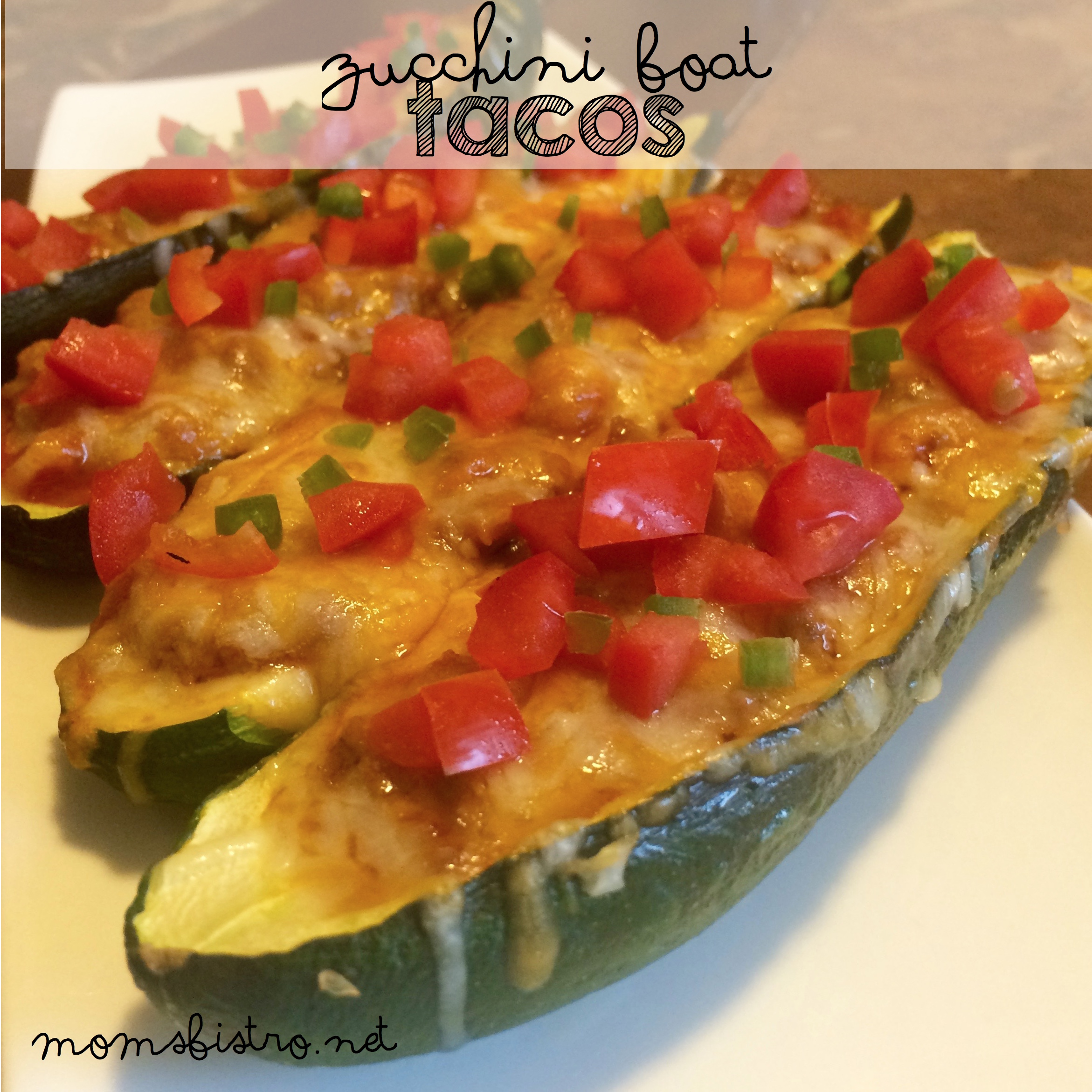 Put A Fast and Healthy Spin on Taco Tuesday!  Simple 30-Minute Taco Stuffed Zucchini Boats Recipe