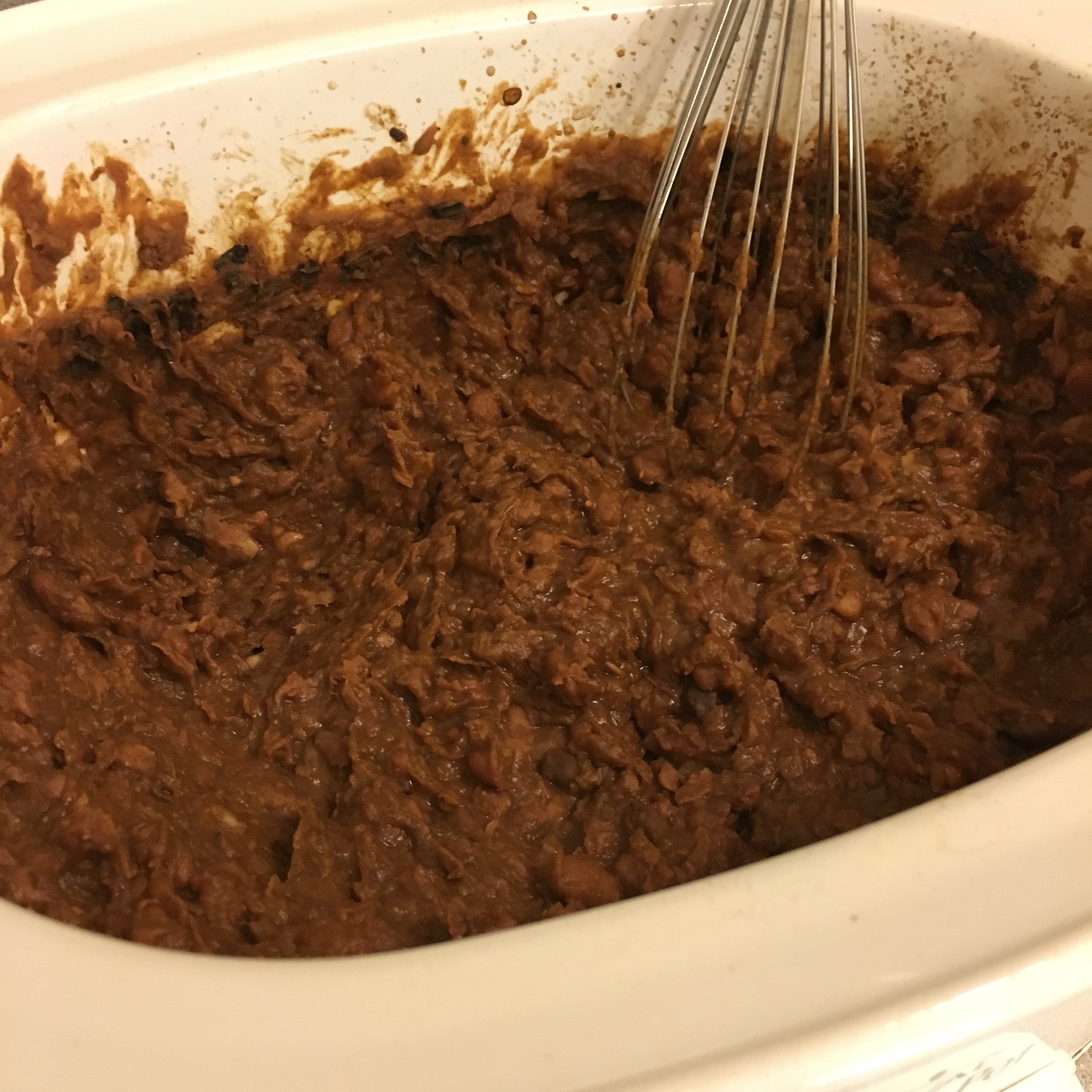 how to cook refried beans from can