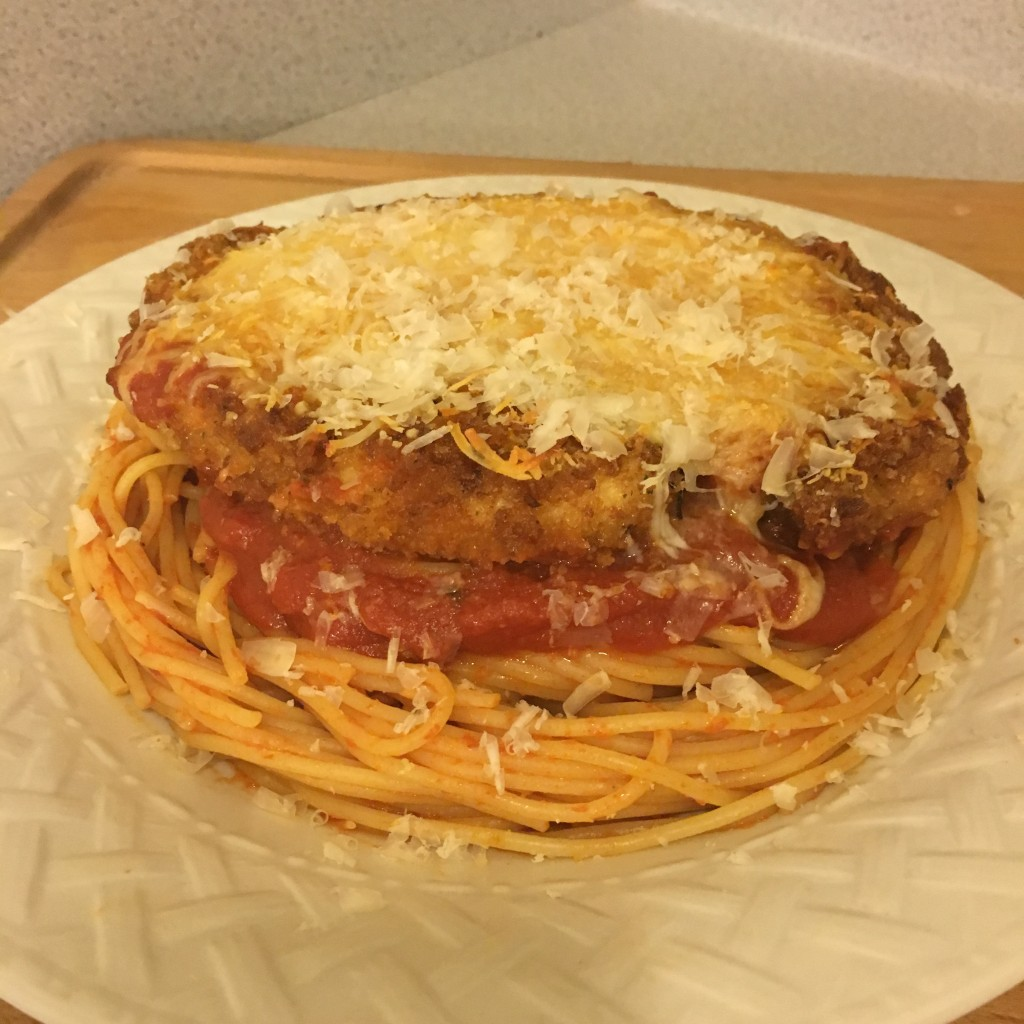 homemade chicken parmesan leftover spaghetti sauce authentic moms bistro best ever chicken parm recipe