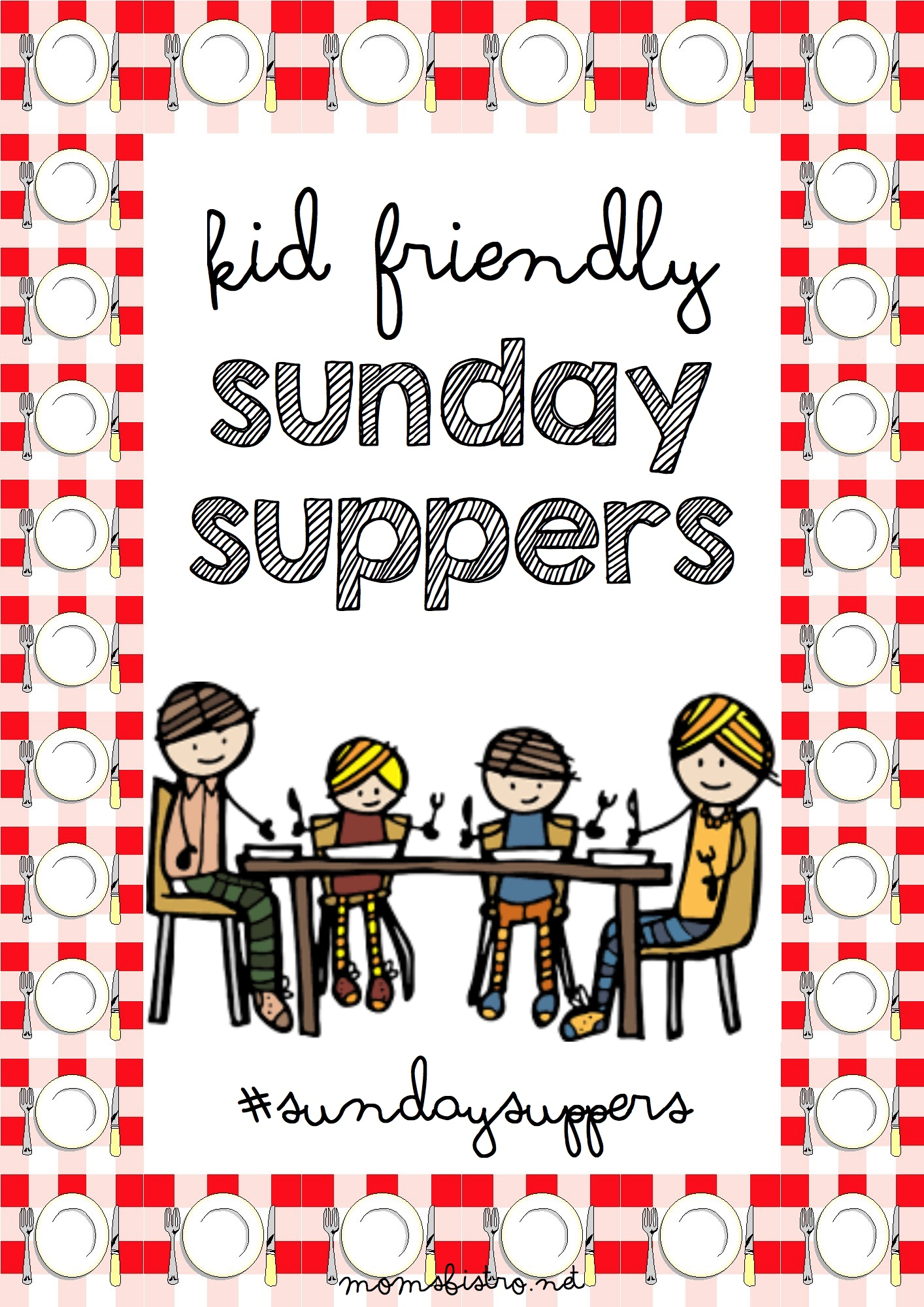 Introducing Sunday Suppers!  Rediscover Sunday Suppers with Your Family! #SundaySuppers