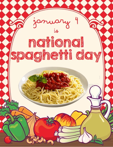 national spaghetti day