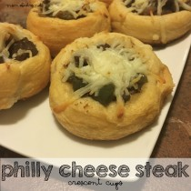 philly cheese steak cups