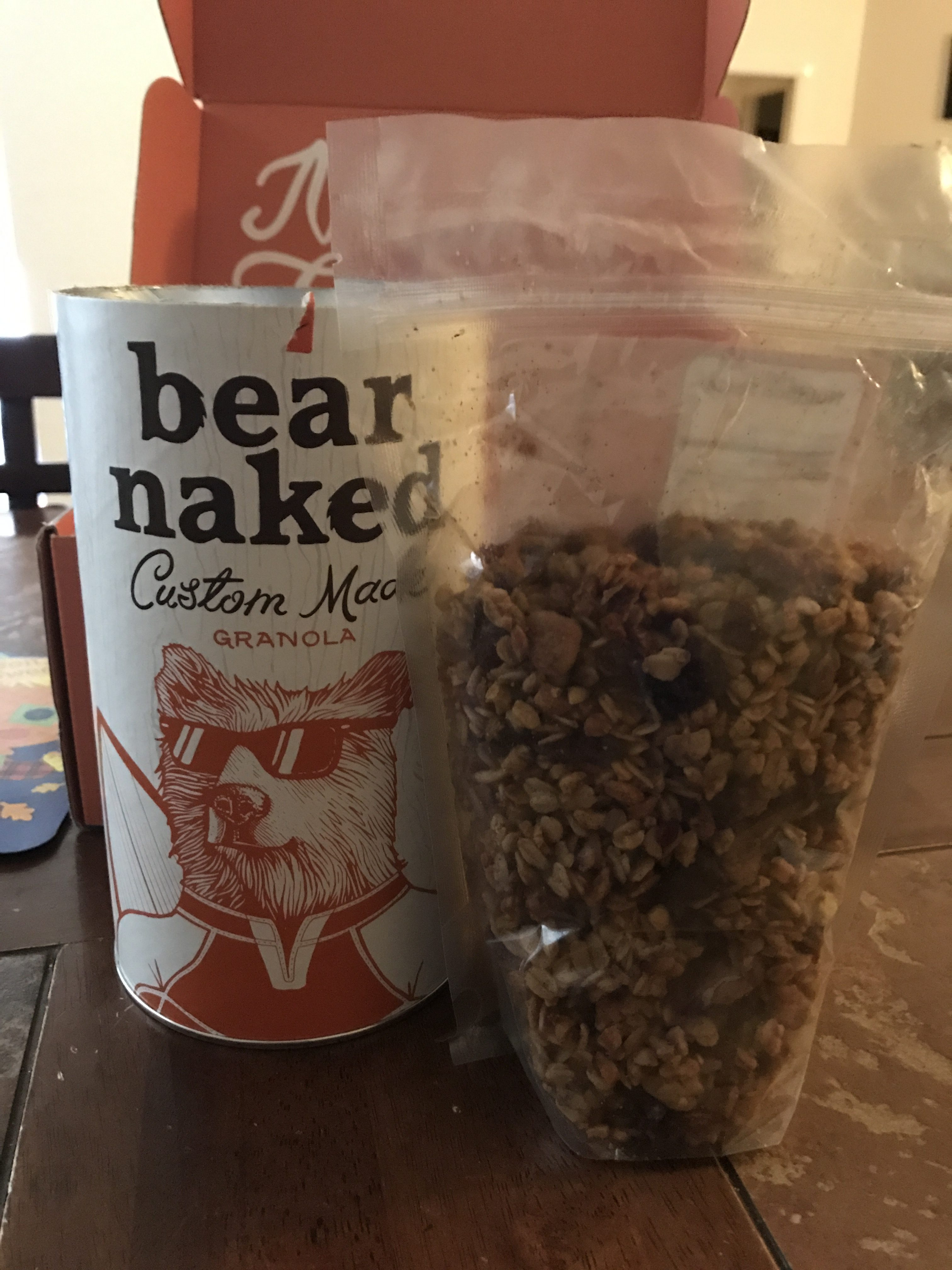 Make It All About YOU with Bear Naked Custom Granola