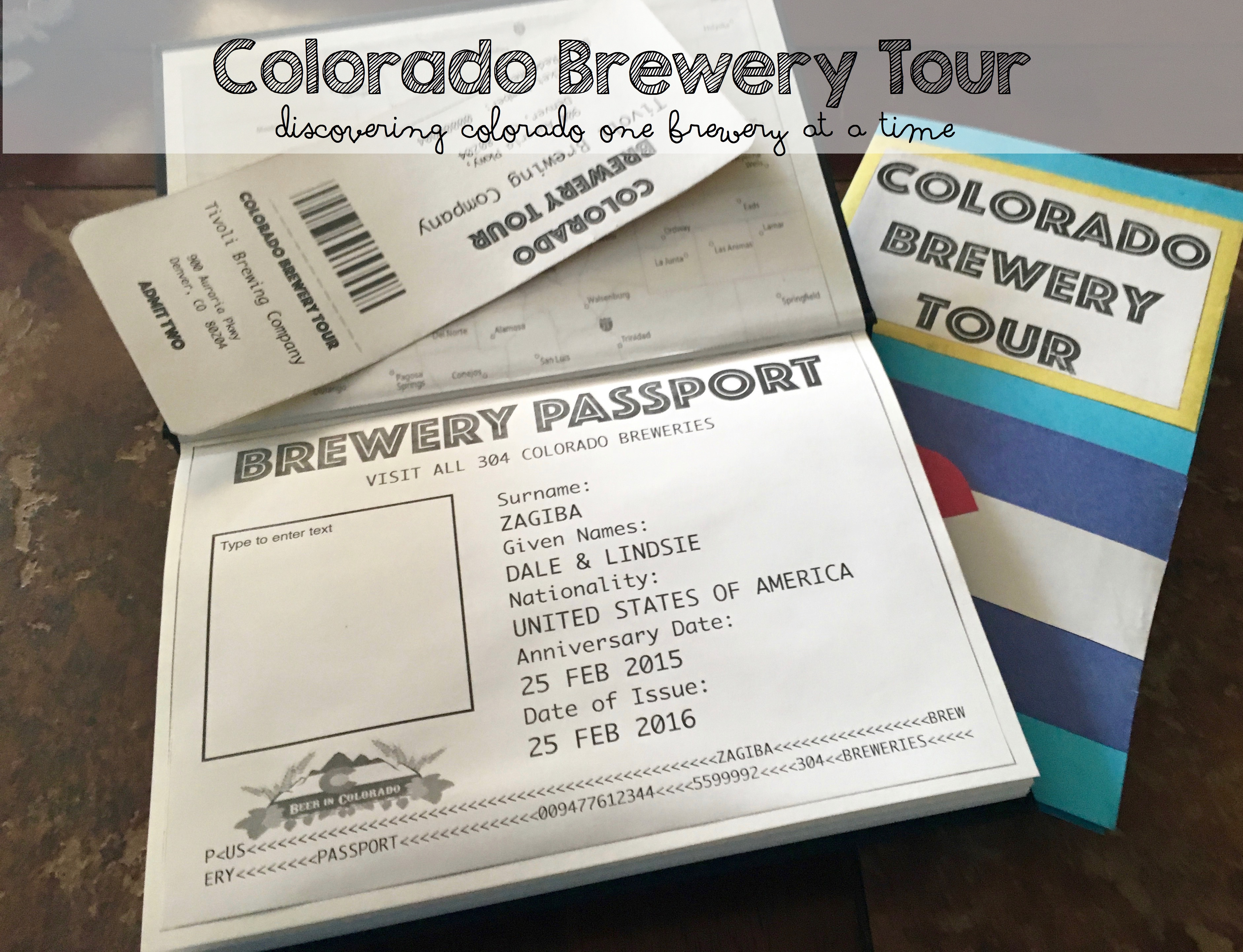 Our Colorado Brewery Tour!