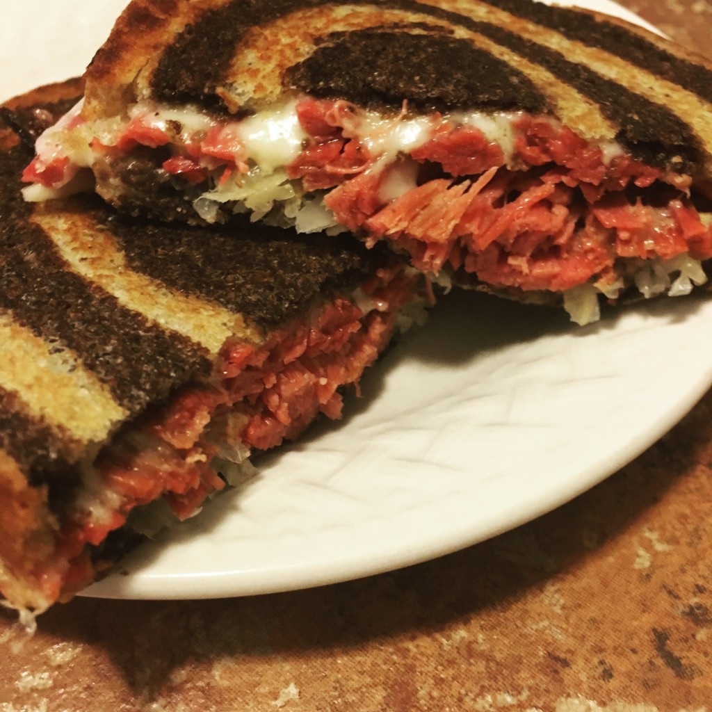 rueben sandwich st patricks day