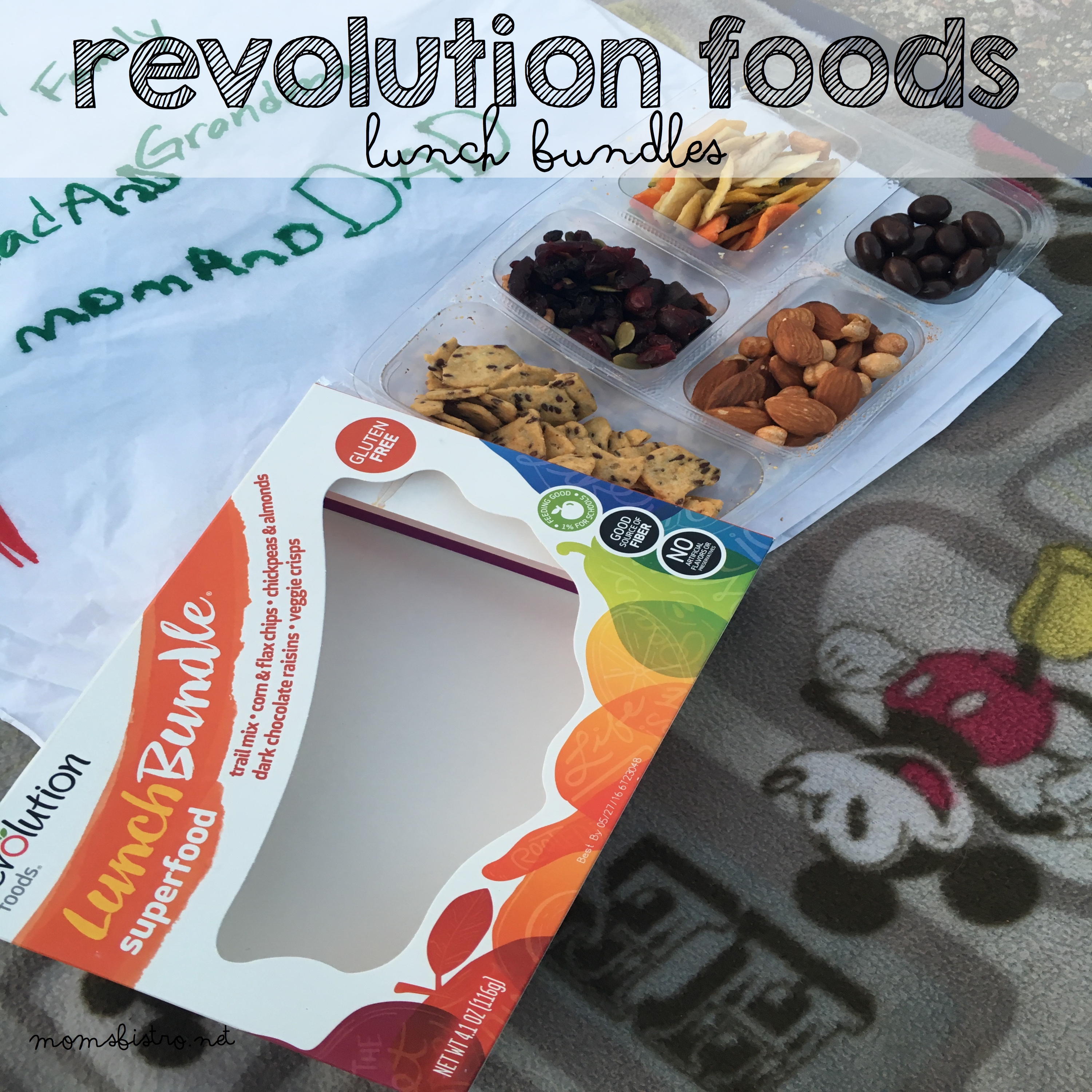A Healthy On-The-Go Lunch For Mom's! Revolution Foods Lunch Bundles Review and Giveaway!