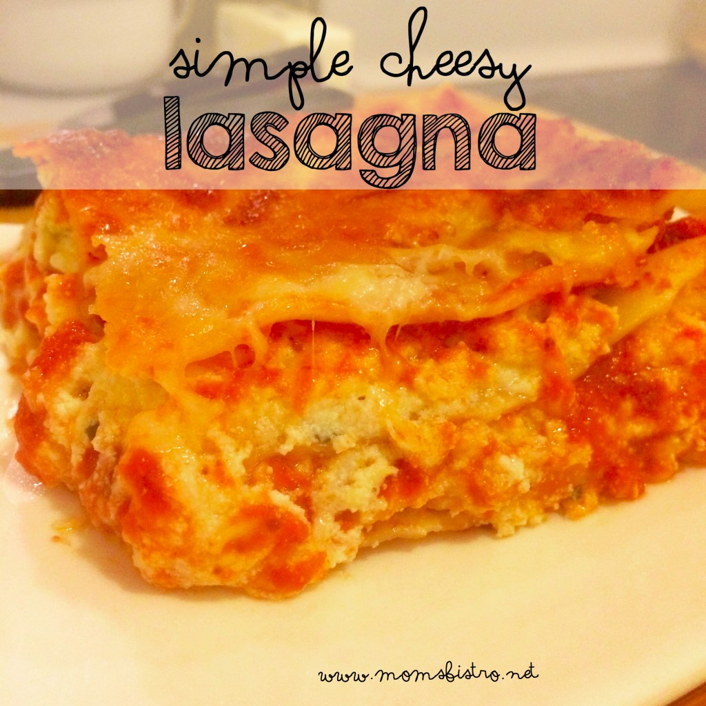 Quite Possibly the ONLY Lasagna Recipe You'll Ever Need!