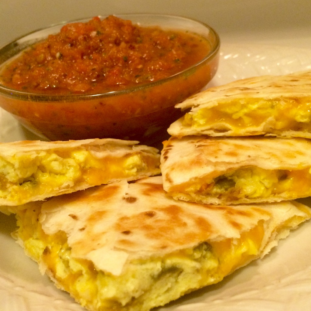 Breakfast Quesdailla