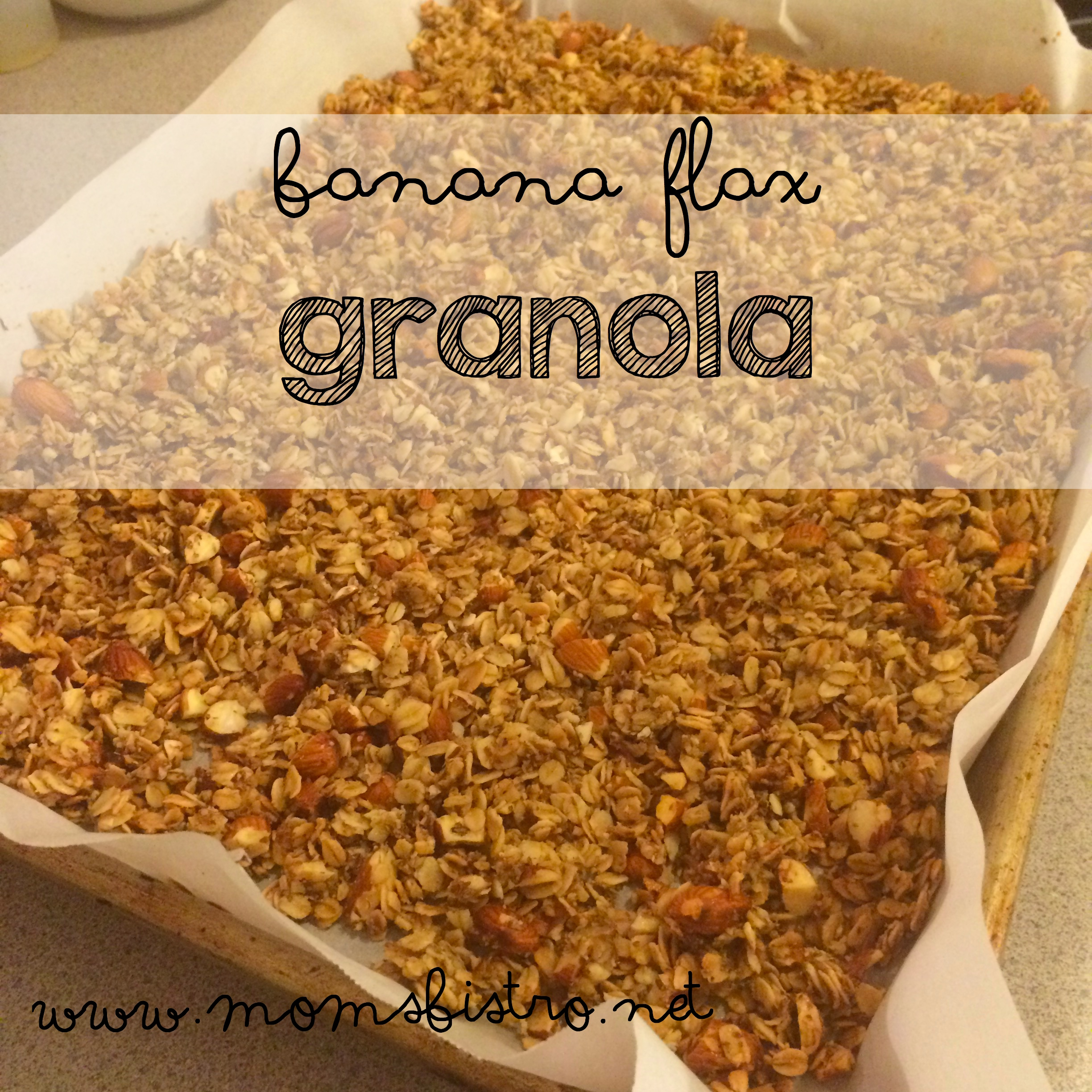 Banana Flax Granola Recipe