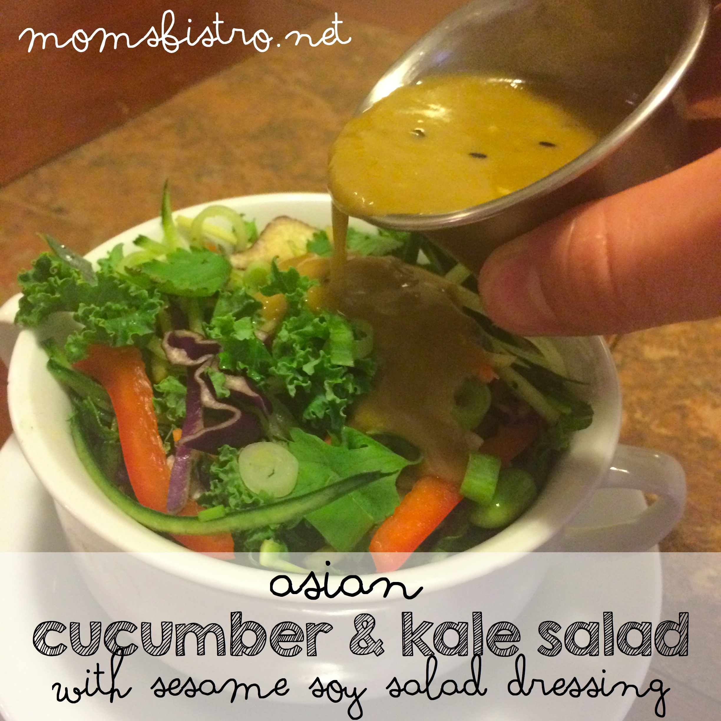 asian cucumber and kale salad asian chop salad recipe moms bistro sesame soy salad dressing recipe
