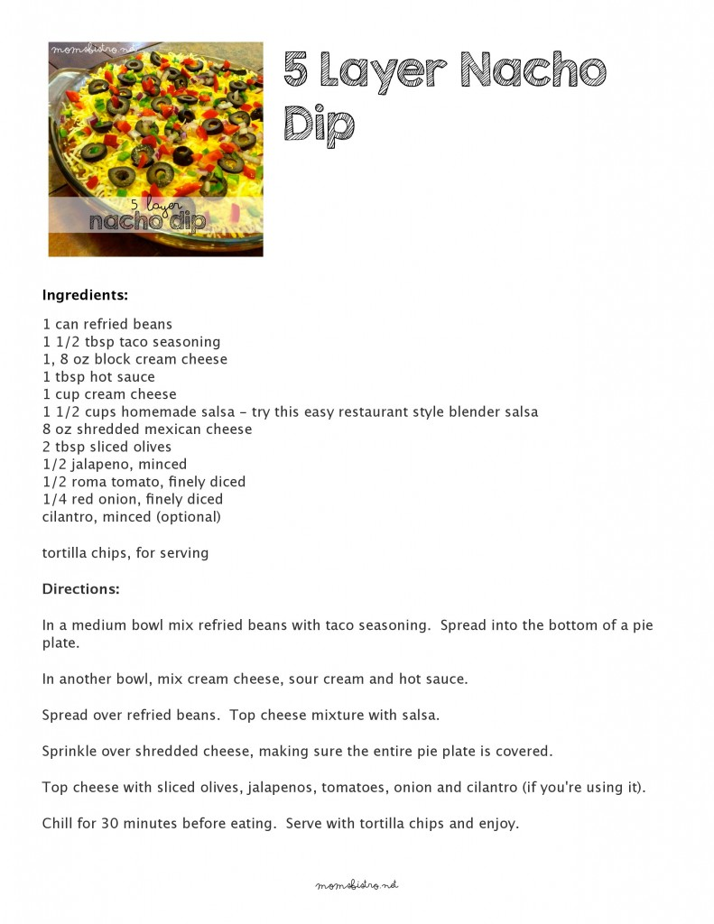 Click to download a printable recipe
