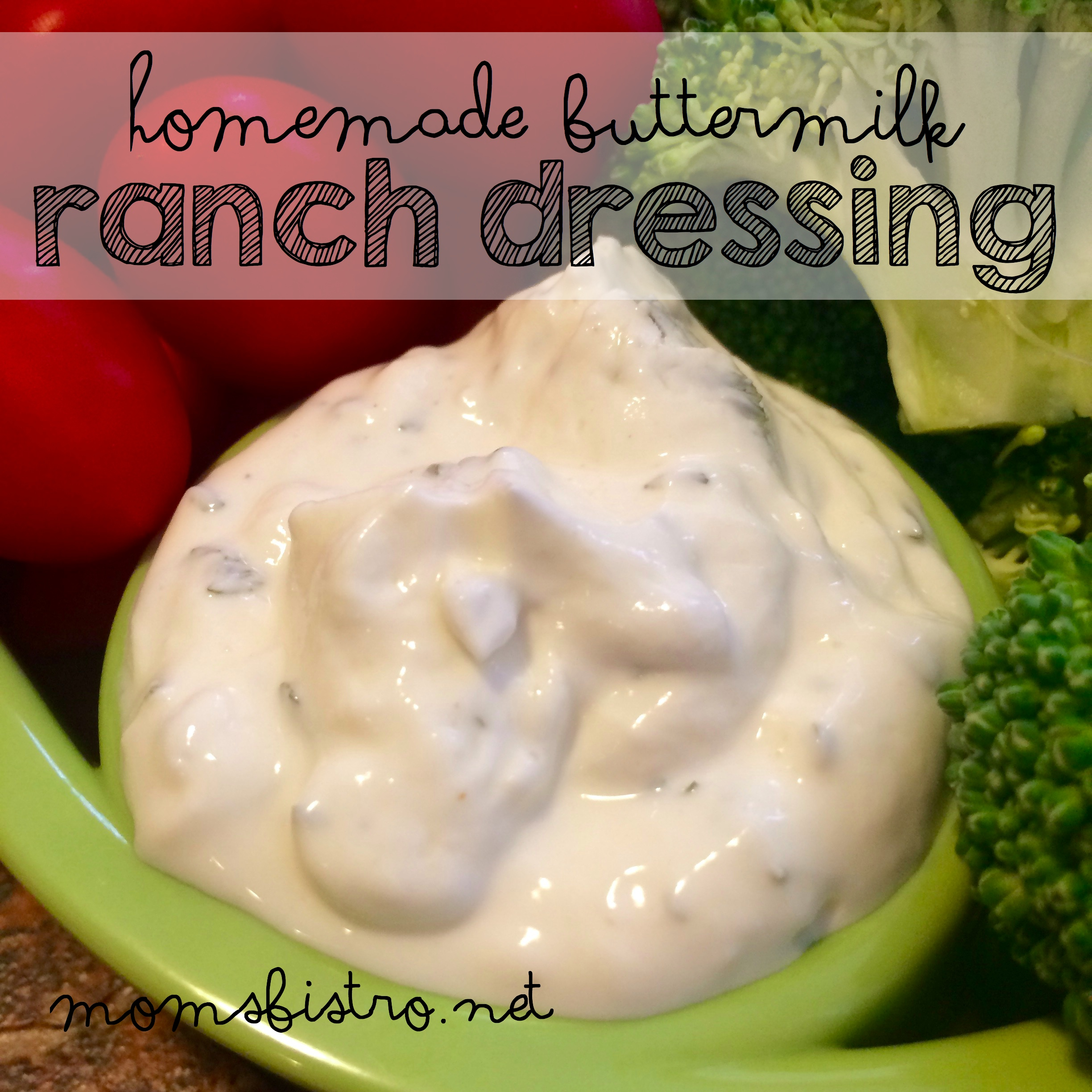 Homemade Buttermilk Ranch Dressing Recipe – Try This Easy Homemade Version Once and Never Buy Ranch Dressing Again!
