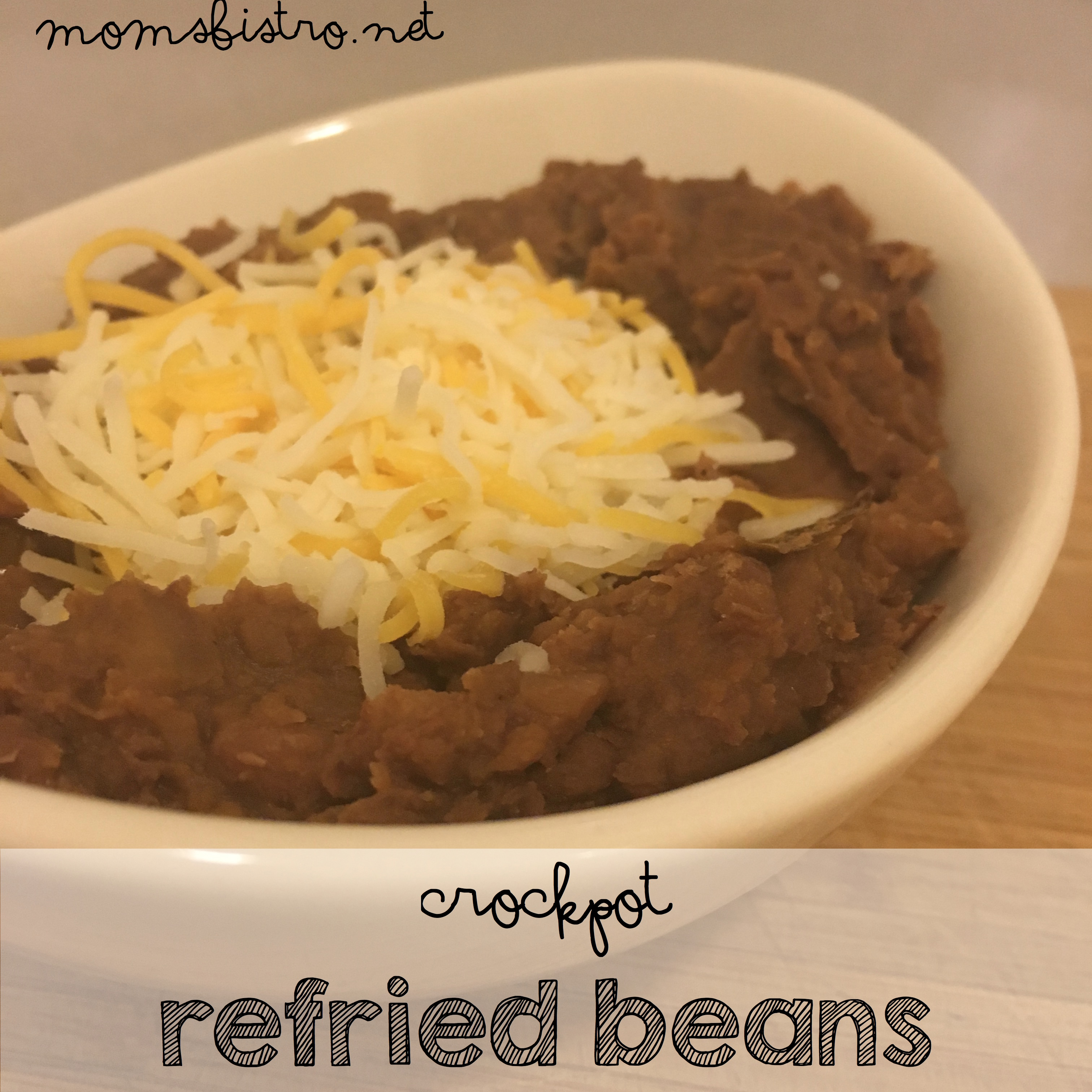 Mexican Made Easy | An Easy Homemade Recipe For Refried Beans That Will Make You Ditch The Can| Easy and Delicious Homemade CrockPot Refried Beans Recipe