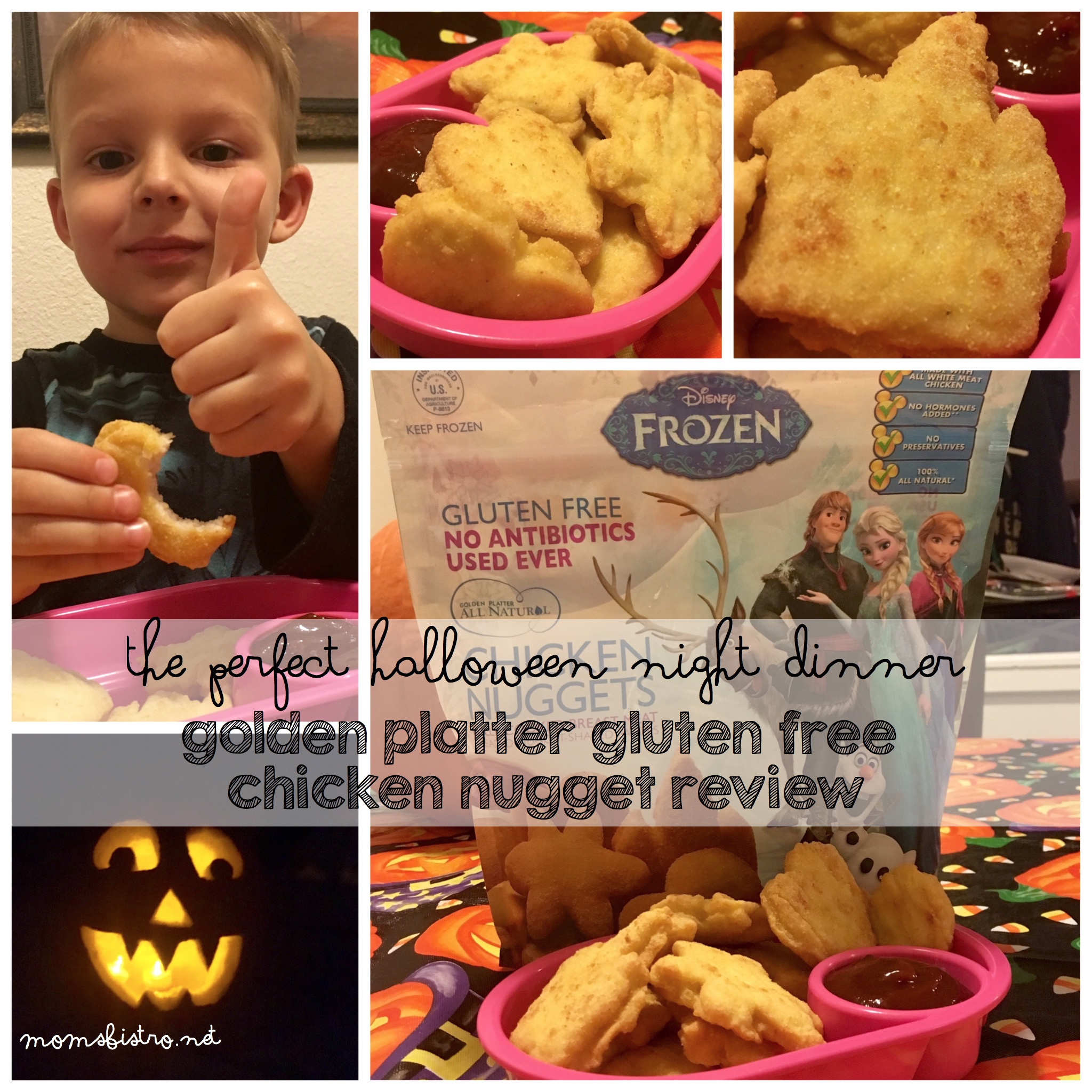 Are You Still Looking For The Perfect Halloween Night Dinner?  These Golden Platter Gluten-Free Chicken Nuggets Are Sure To Please – Golden Platter Chicken Nugget Review