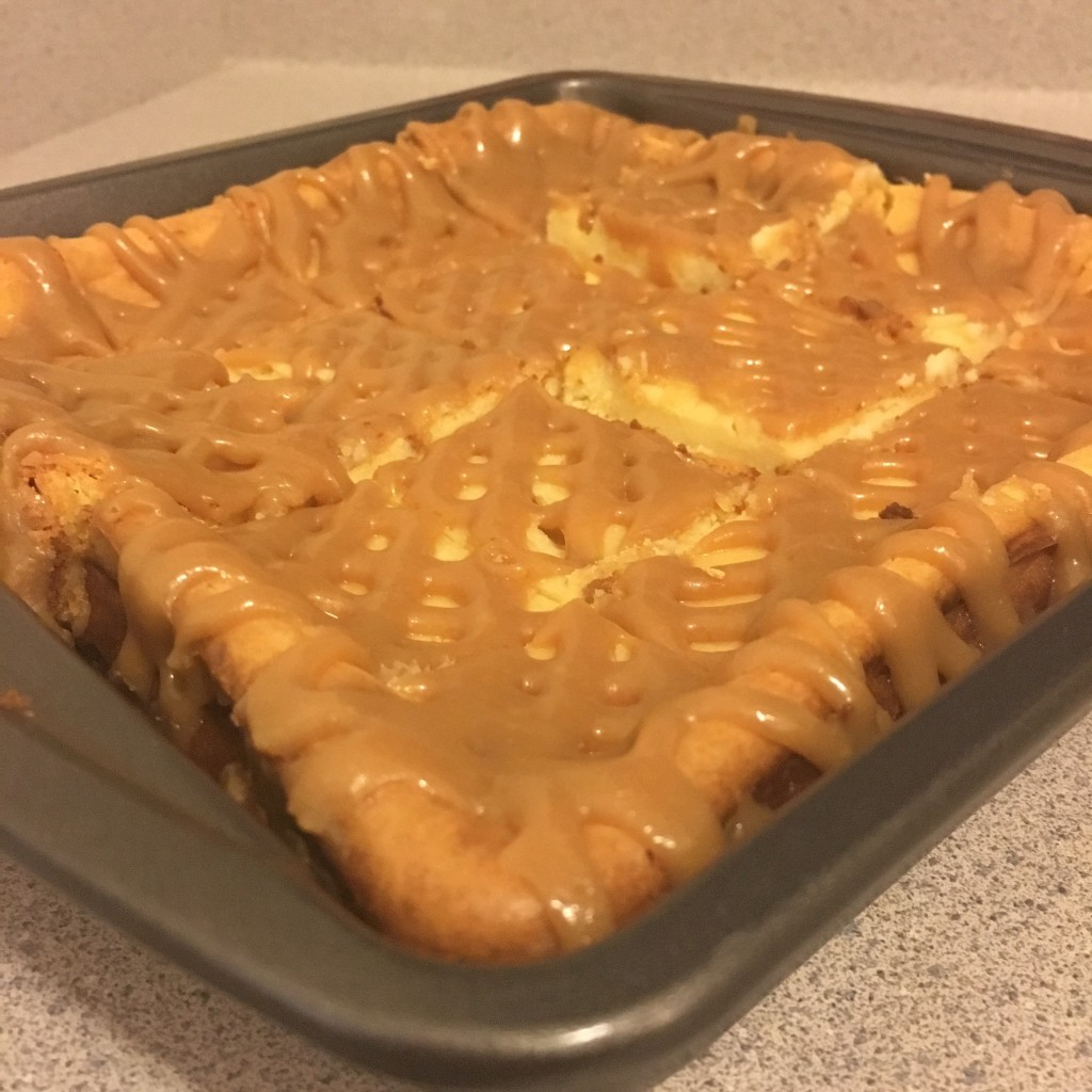 salted caramel cheesecake with gingersnap crust christmas