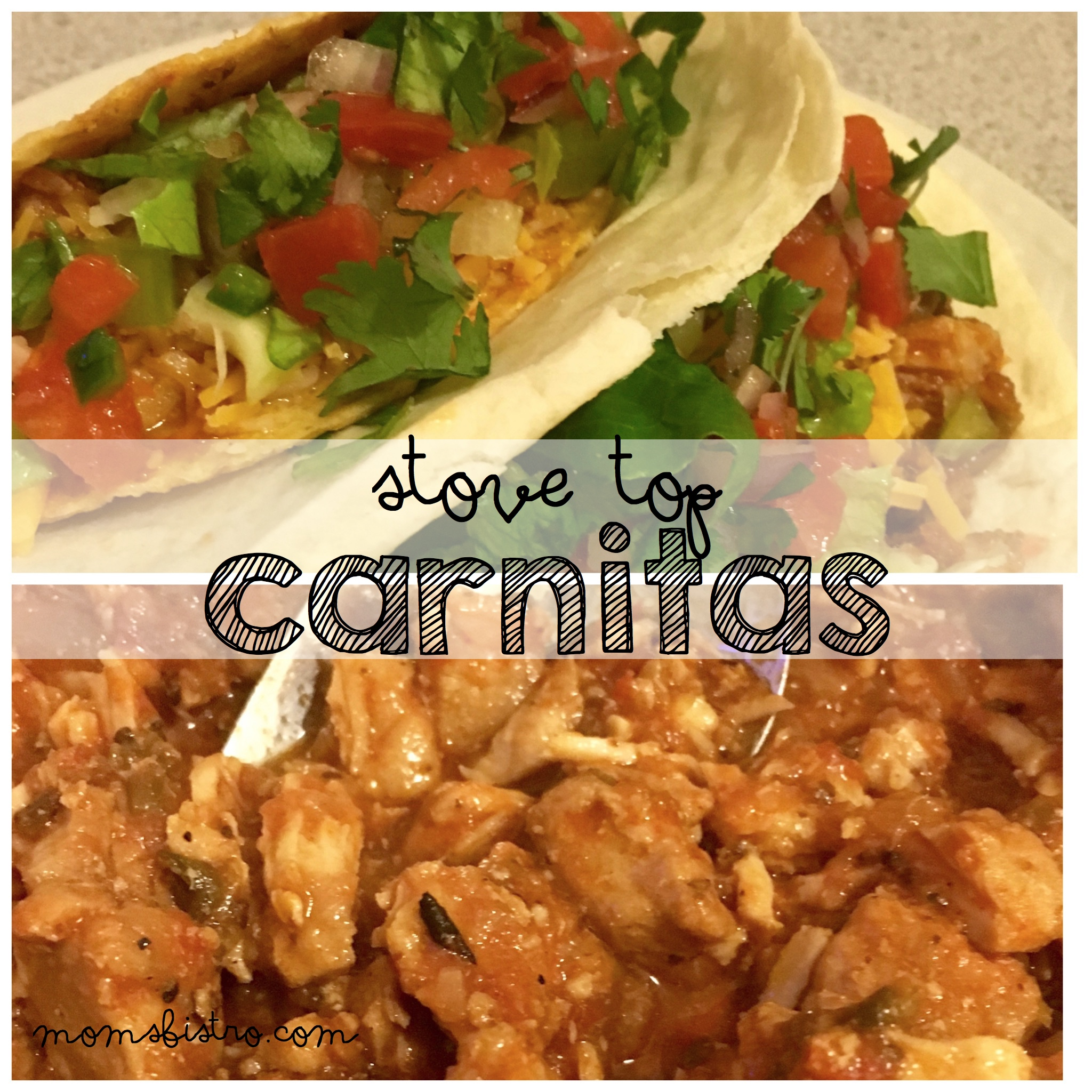 Celebrate This Taco Tuesday With Pork Tacos!  Easy Stove Top Carnitas Recipe