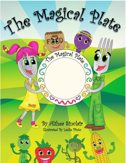 Getting Kids To Eat Healthy At A Young Age with The Magical Plate