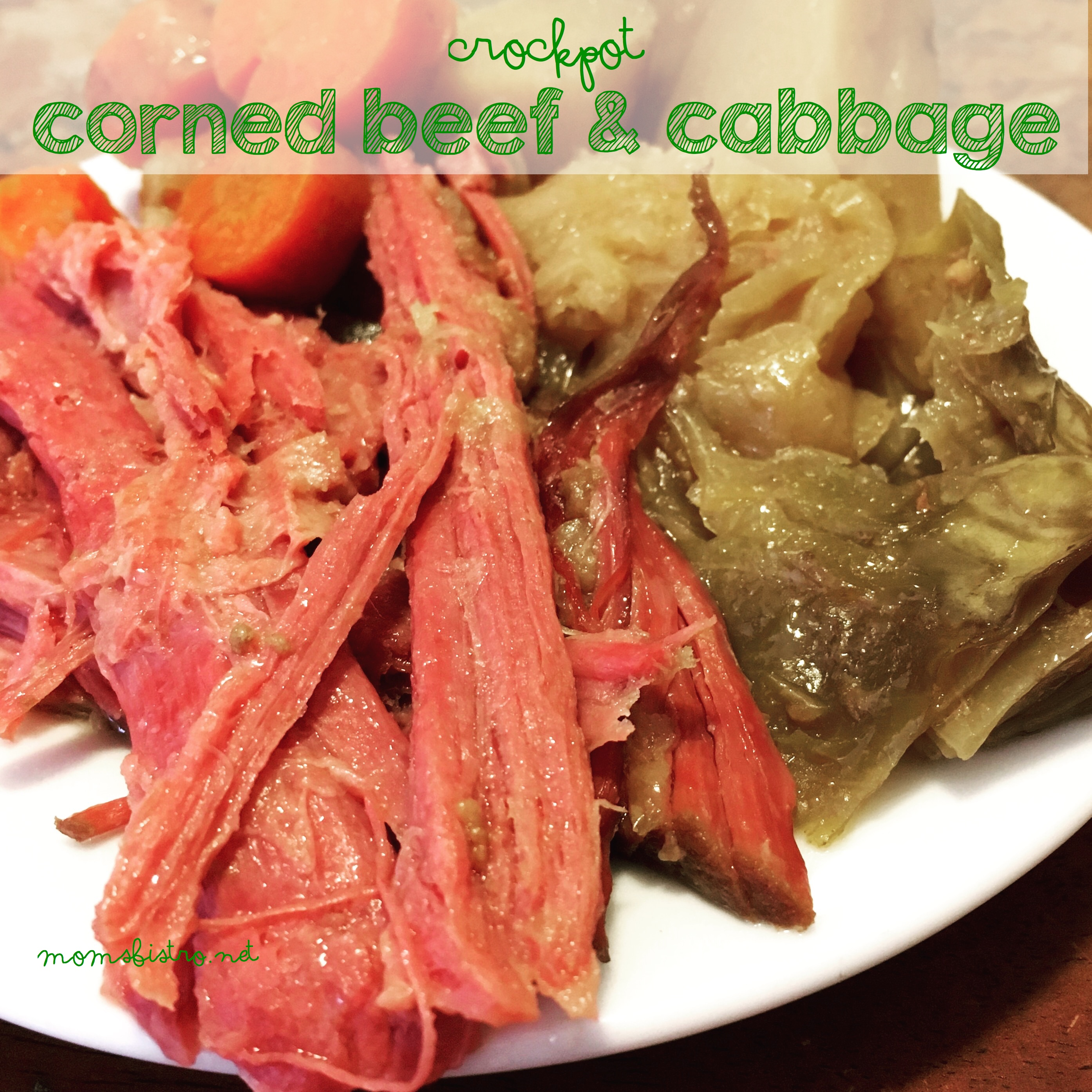 The Luck Of The Irish Will be With You With This Easy CrockPot Corned Beef and Cabbage