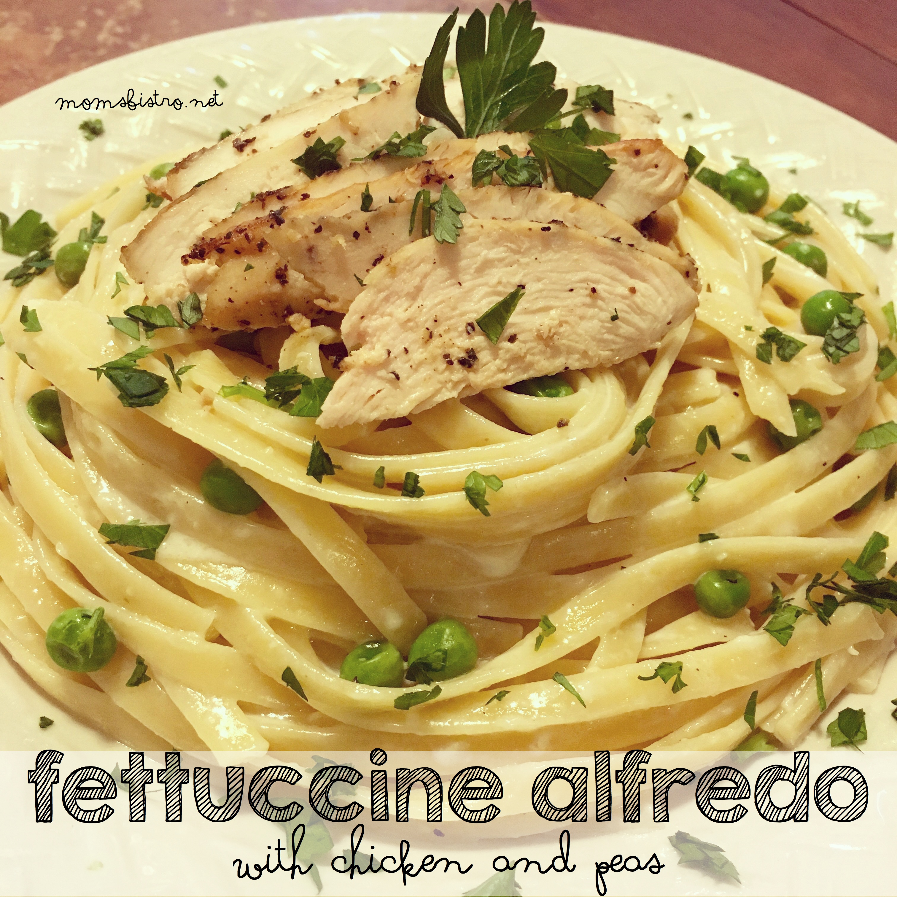 Your New Go To Weeknight Dinner!  30-Minute Fettuccine Alfredo