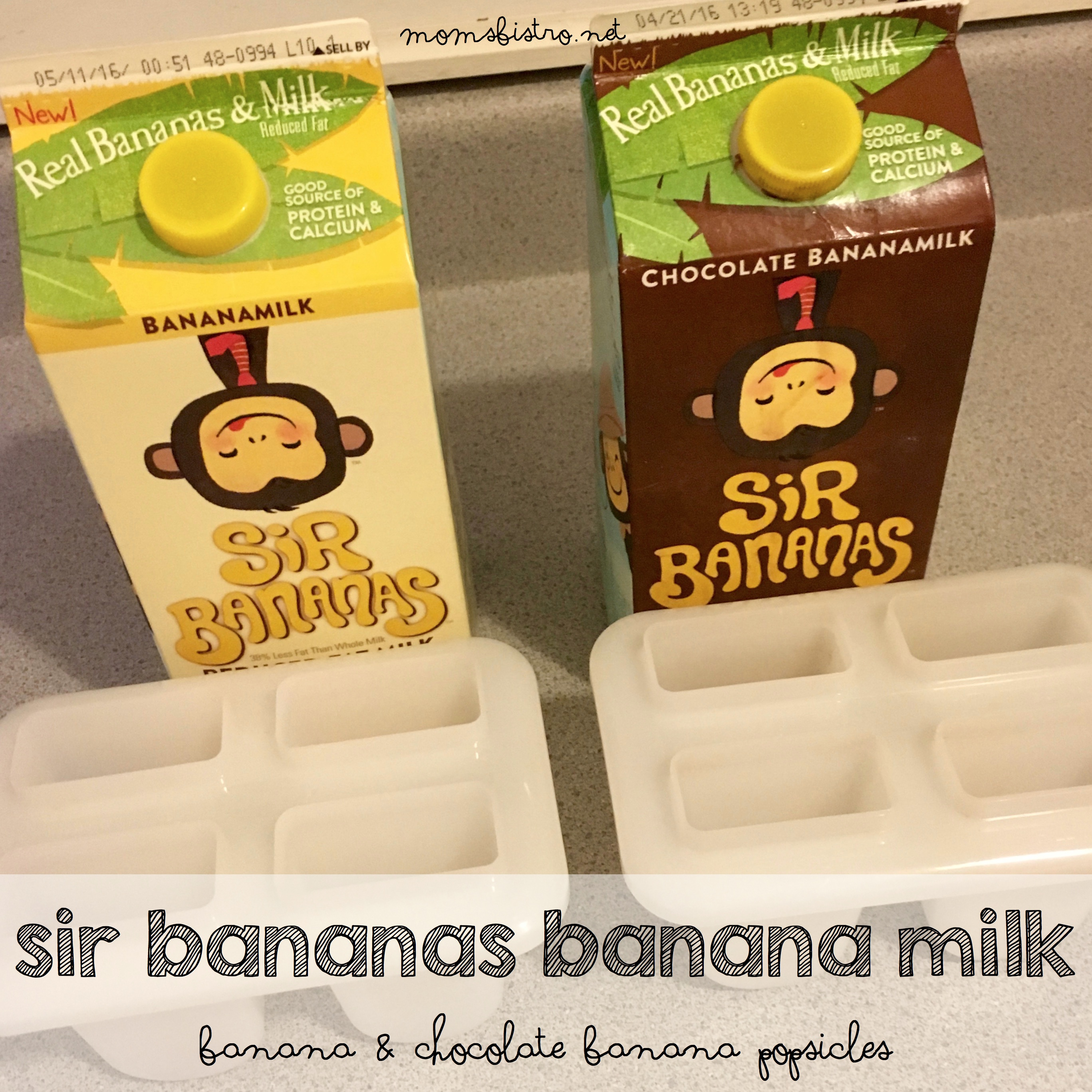 This Milk Is Bananas™!  Sir Bananas Banana Milk Review and Banana Popsicle Recipe