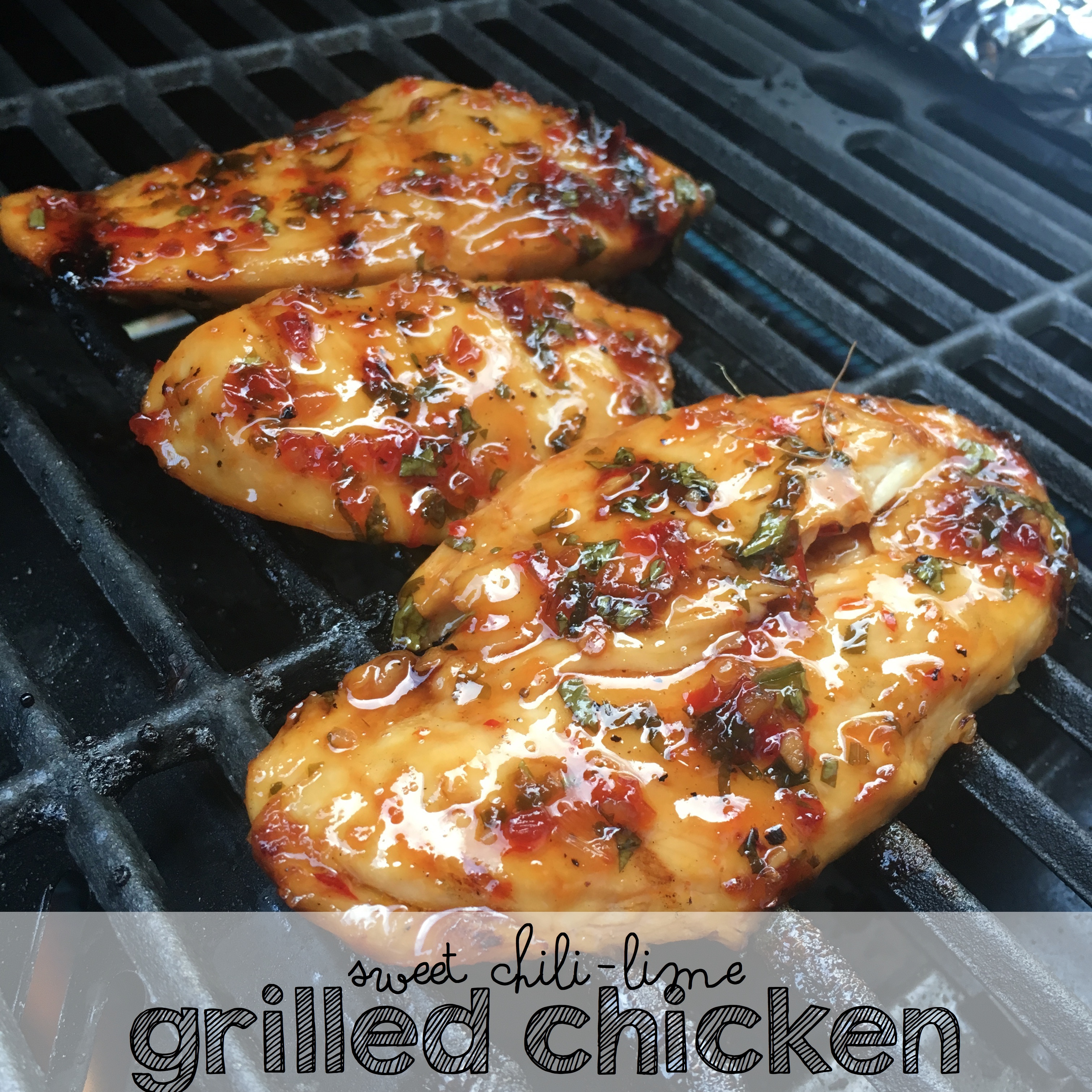 This Grilled Sweet Chili Lime Chicken Is One Of The Best Things You'll Make This Summer!
