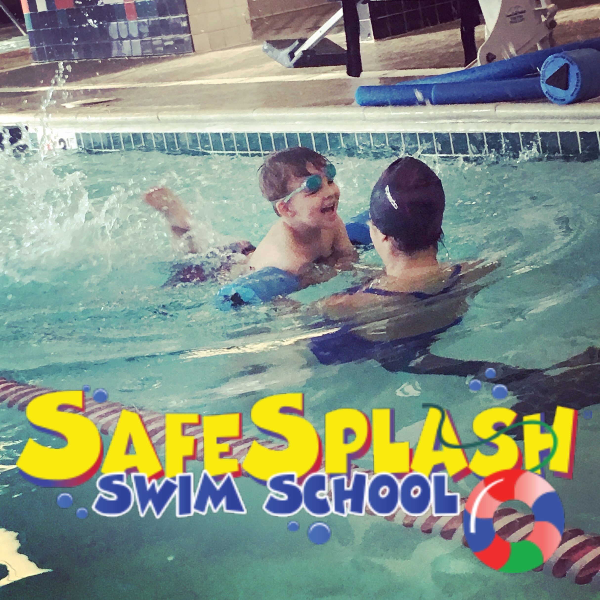 Learn To Swim with SafeSplash Swim School!