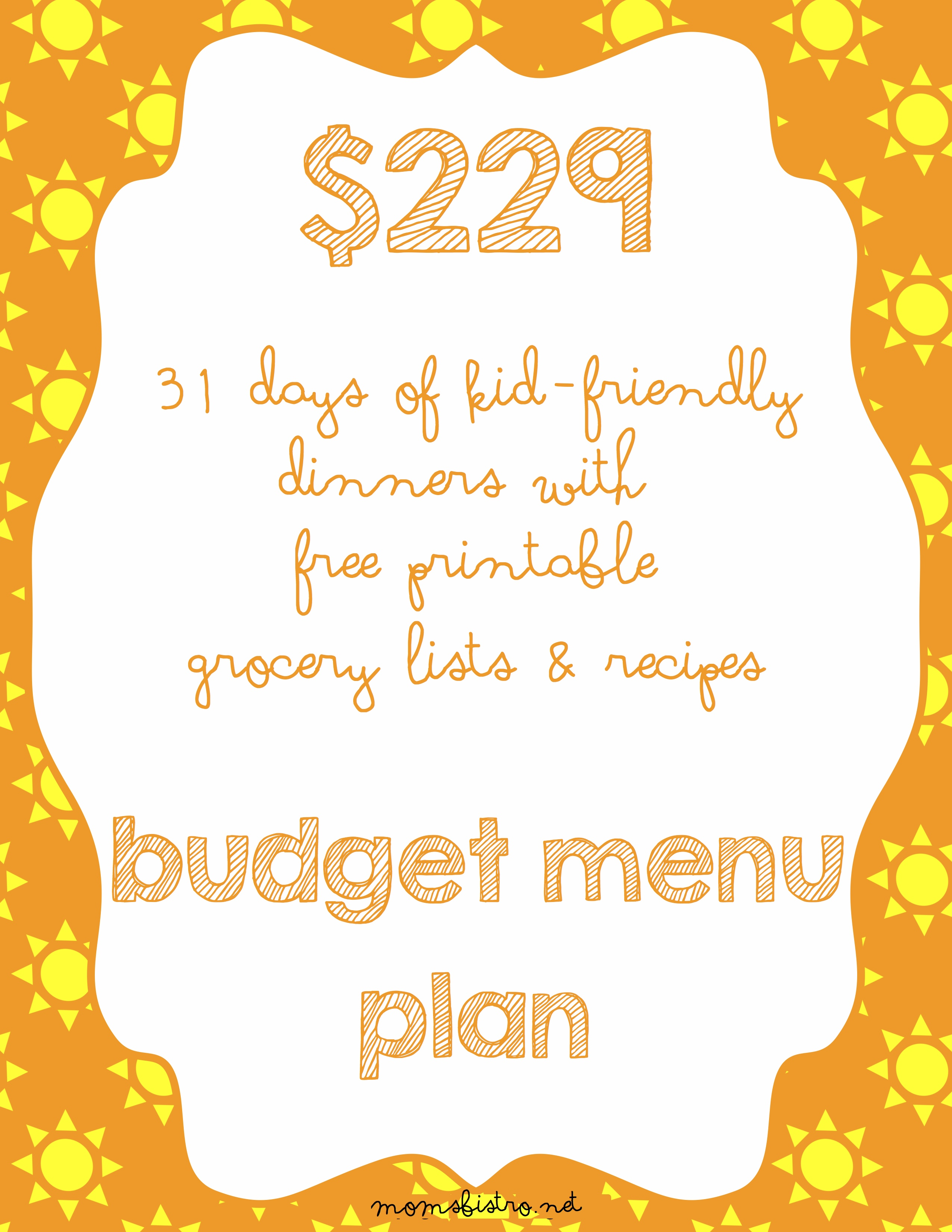 Get Ready For Back-To-School With August's Menu – Only $229 For A Month of Kid-Friendly Dinners!